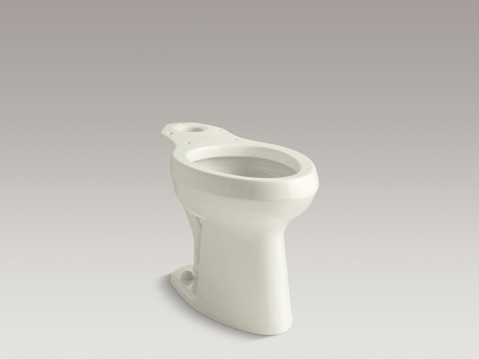 Kohler K-4304-96 Highline Elongated Toilet Bowl with Pressure Lite Technology Biscuit