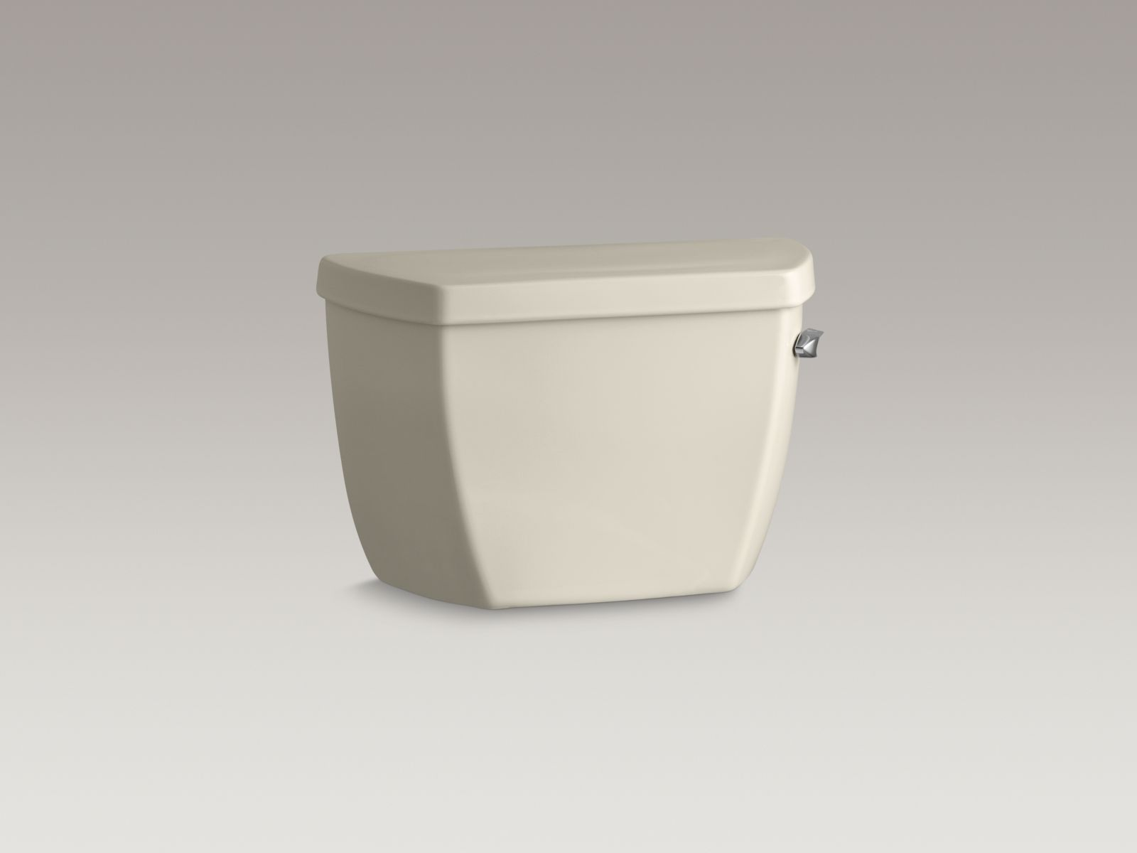 Kohler K-4645-RA-47 Highline Classic 1.6 GPF Pressure Lite Toilet Tank with Right-hand Trip Lever Almond