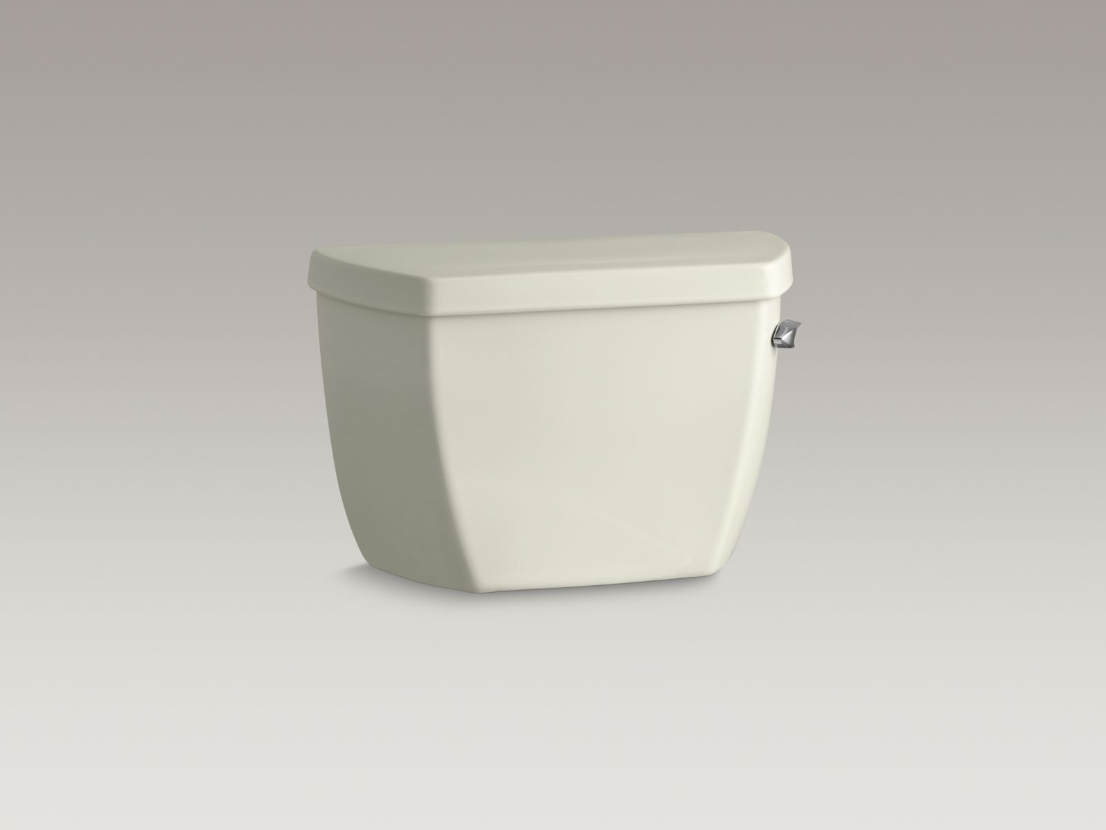 Kohler K-4645-RA-96 Highline Classic 1.6 GPF Pressure Lite Toilet Tank with Right-hand Trip Lever Biscuit
