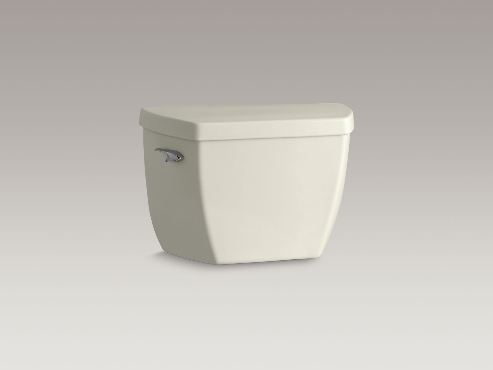 Kohler K-4645-T-96 Highline Classic 1.6 GPF Pressure Lite Toilet Tank with Left-hand Trip Lever and Cover Locks Biscuit