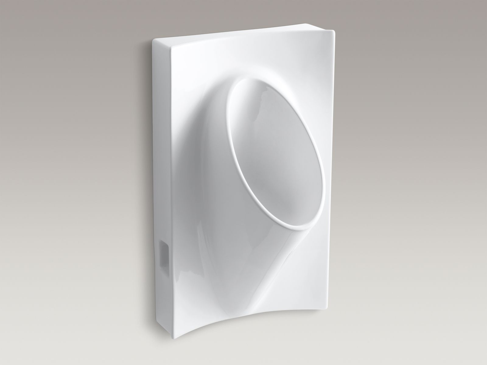 "Kohler K-4919-0 Steward Waterless 20"" x 32"" x 16"" Wall-mounted Urinal White"