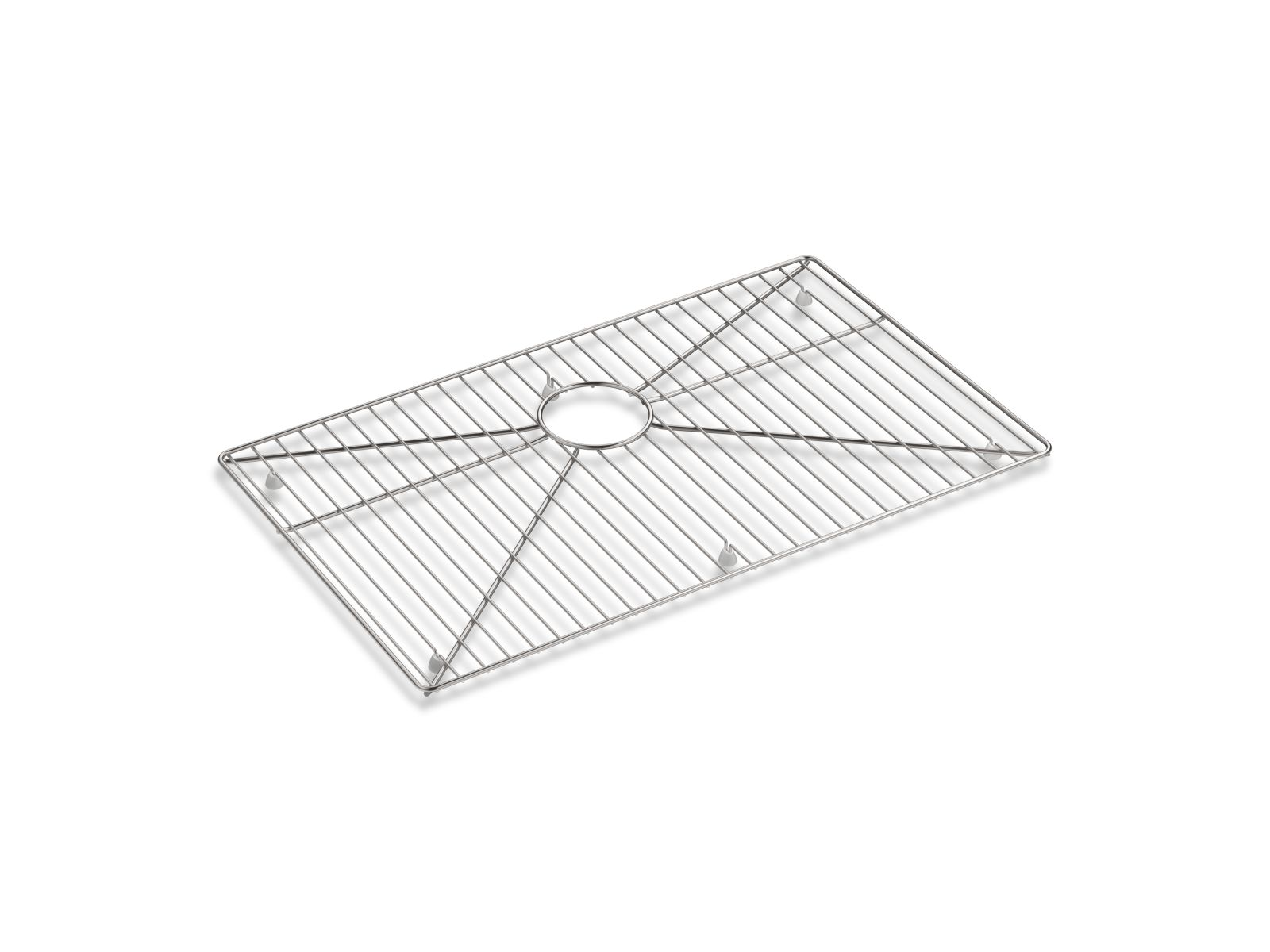 "Kohler K-5408-ST Stainless steel sink rack, 26-3/4"" x 16"" for K-5409 Strive™ kitchen sink Stainless Steel"
