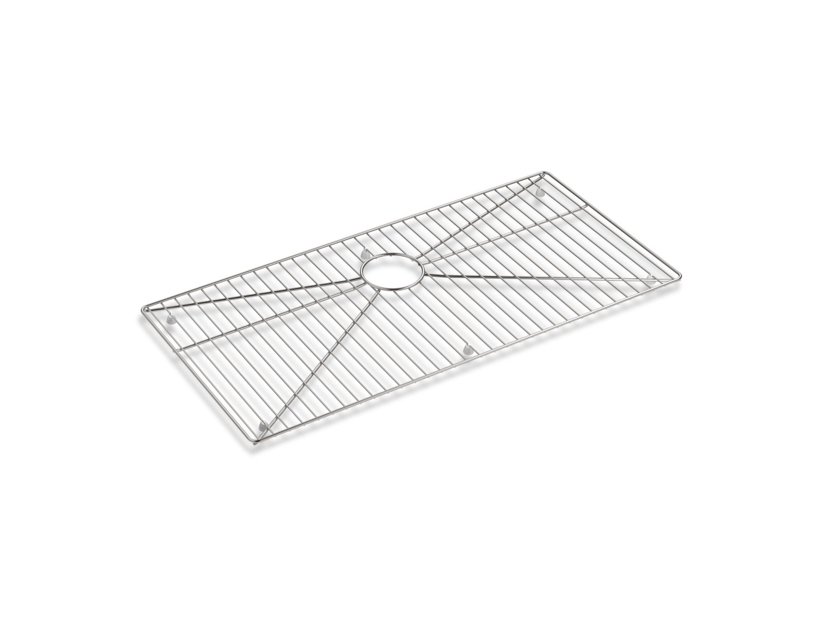"Kohler K-5411-ST Stainless steel sink rack, 32-3/4"" x 16"" for K-5283 Strive™ kitchen sink Stainless Steel"