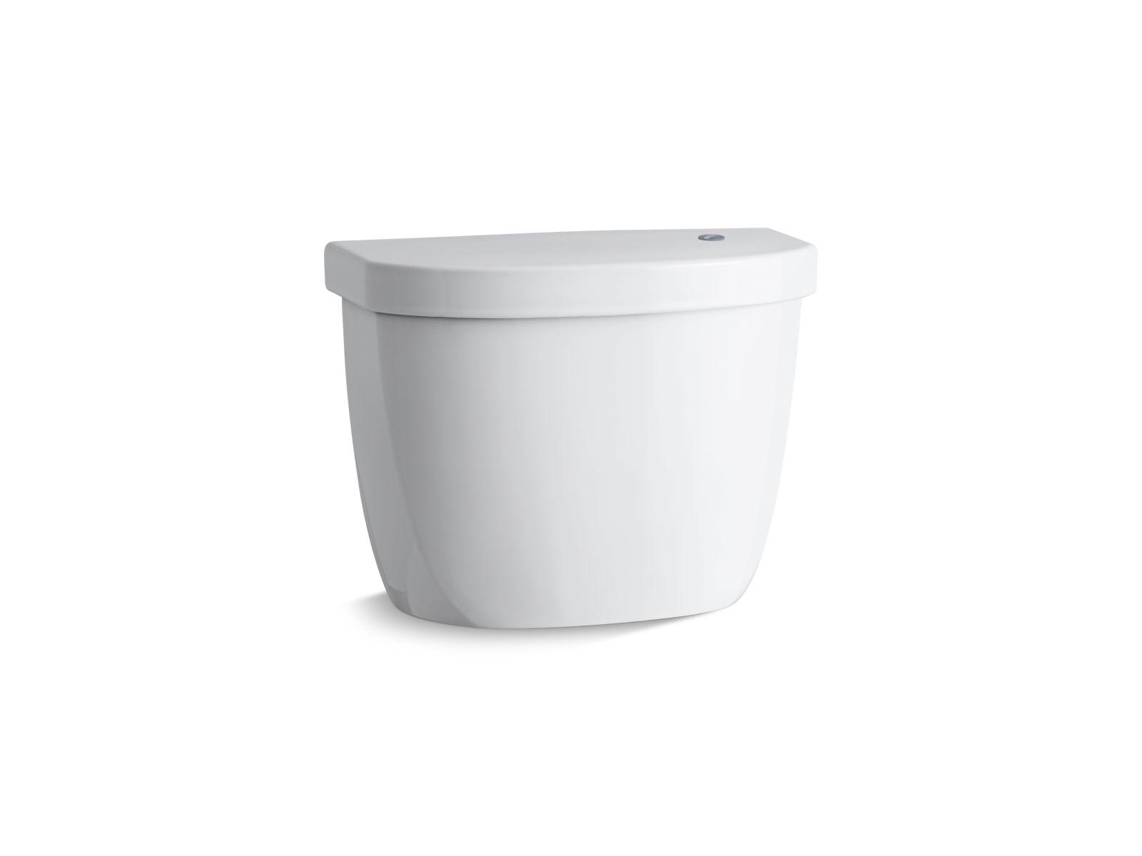 Kohler Cimarron® K-5692-0 tank for K-6418 elongated touchless toilet White