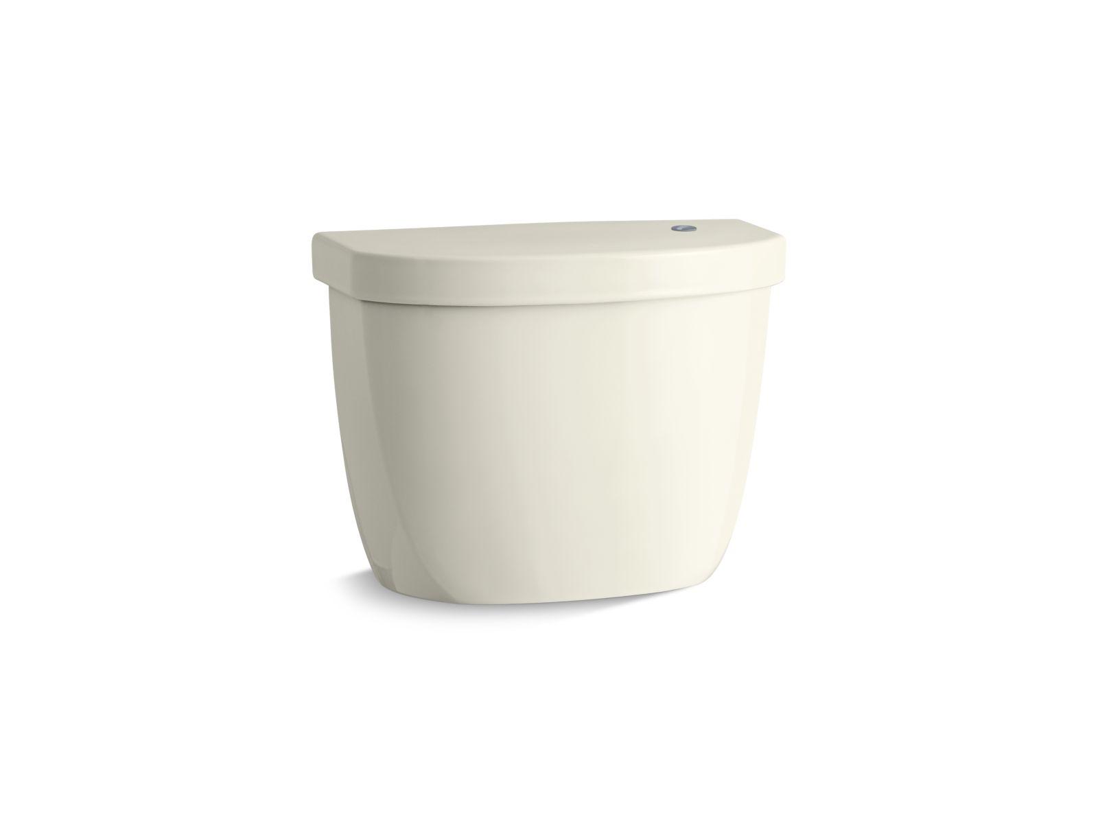 Kohler Cimarron® K-5693-96 tank for K-6419 round-front touchless toilet Biscuit