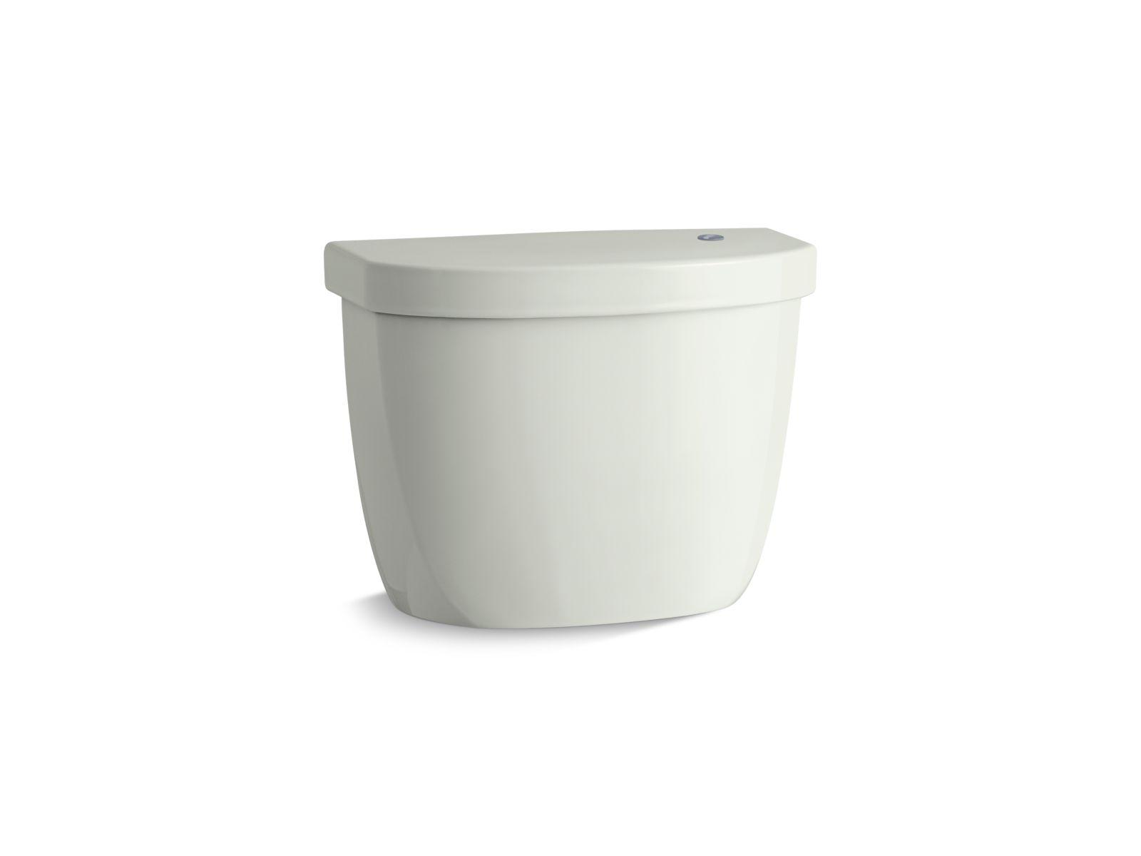Kohler Cimarron® K-5693-NY tank for K-6419 round-front touchless toilet Dune
