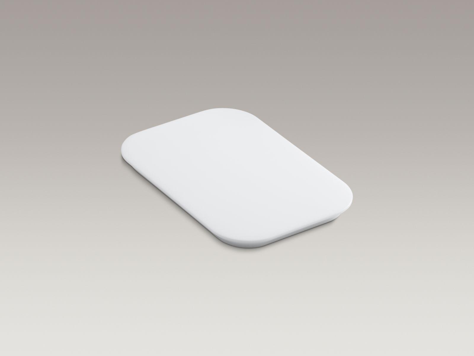 Kohler K-5836-0 Bakersfield Polyethylene Cutting Board White