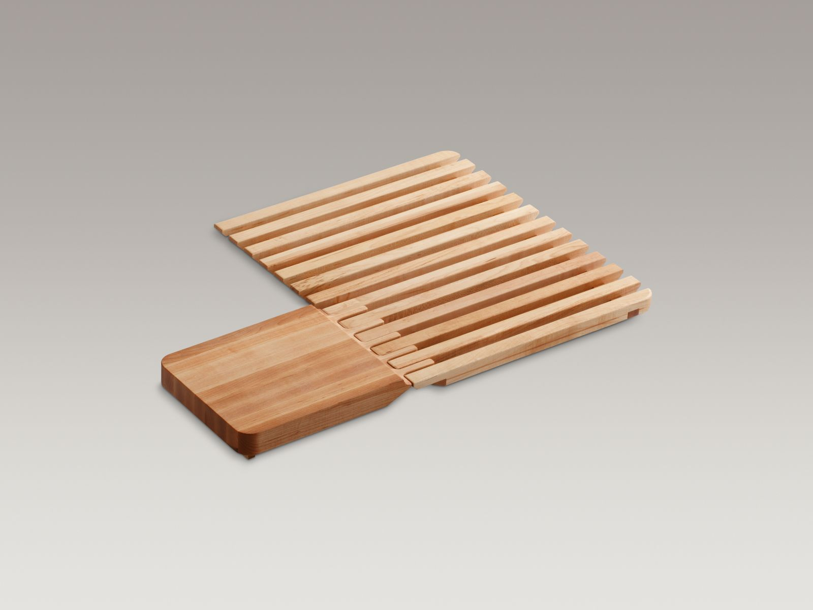 Kohler K-5907-NA Epicurean Hardwood Cutting Board and Drain Board
