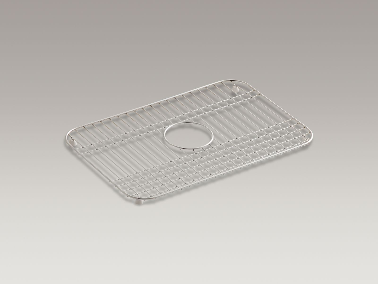"Kohler K-6003-ST Mayfield Stainless Steel 19"" x 13"" Sink Rack"
