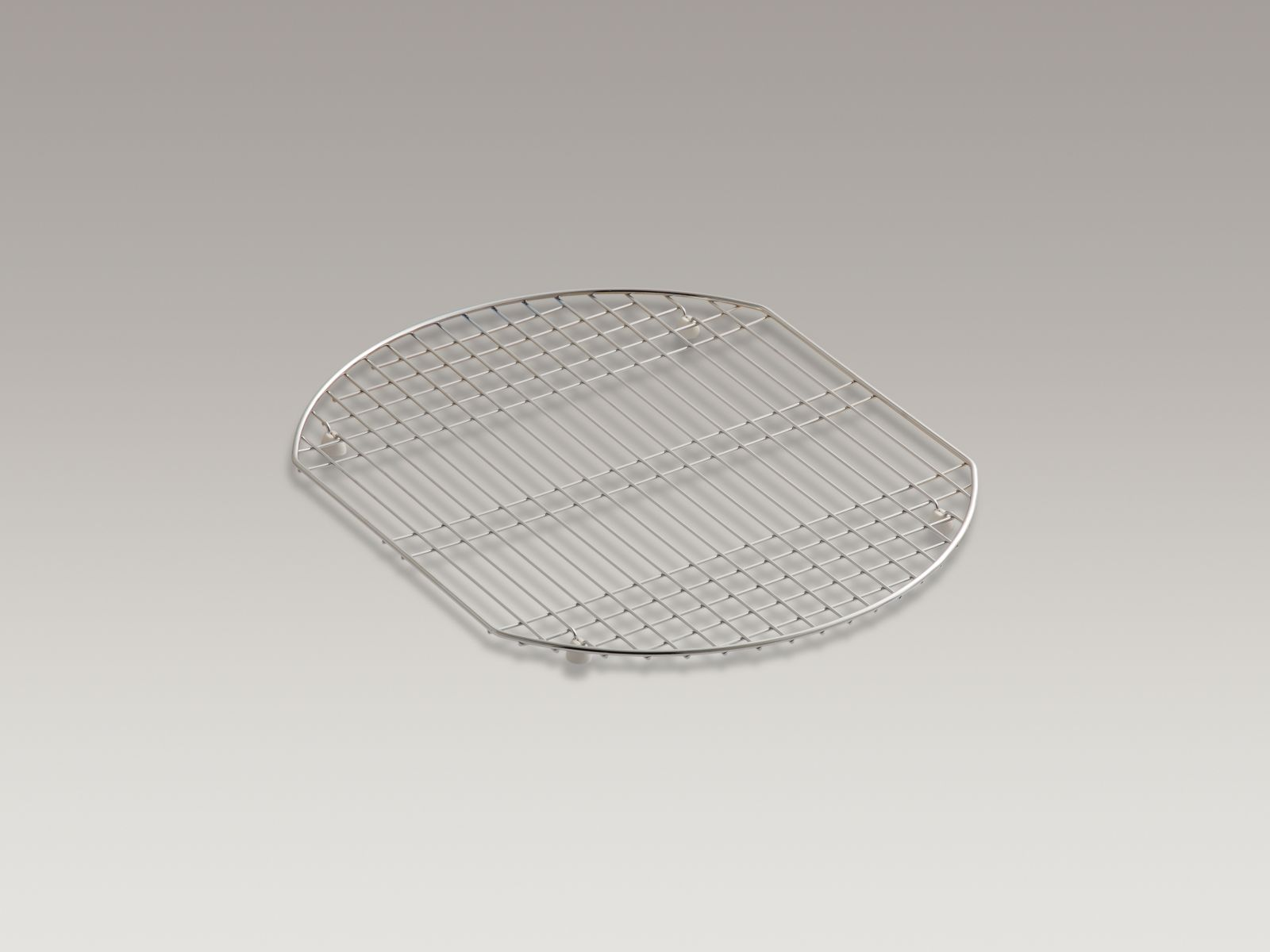 Kohler Entrée™ K-6006-ST Bottom bowl rack for use in Entrée sink Stainless Steel