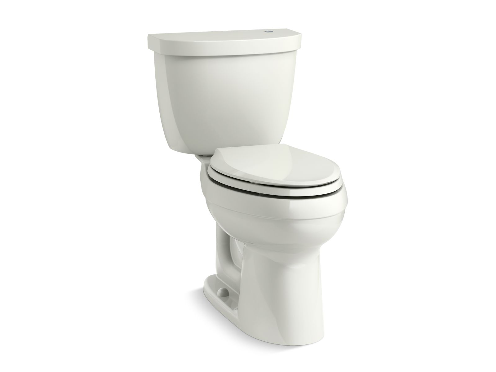 Kohler Cimarron® K-6418-NY Touchless Comfort Height® two-piece elongated 1.28 gpf toilet with AquaPiston® flushing technology Dune