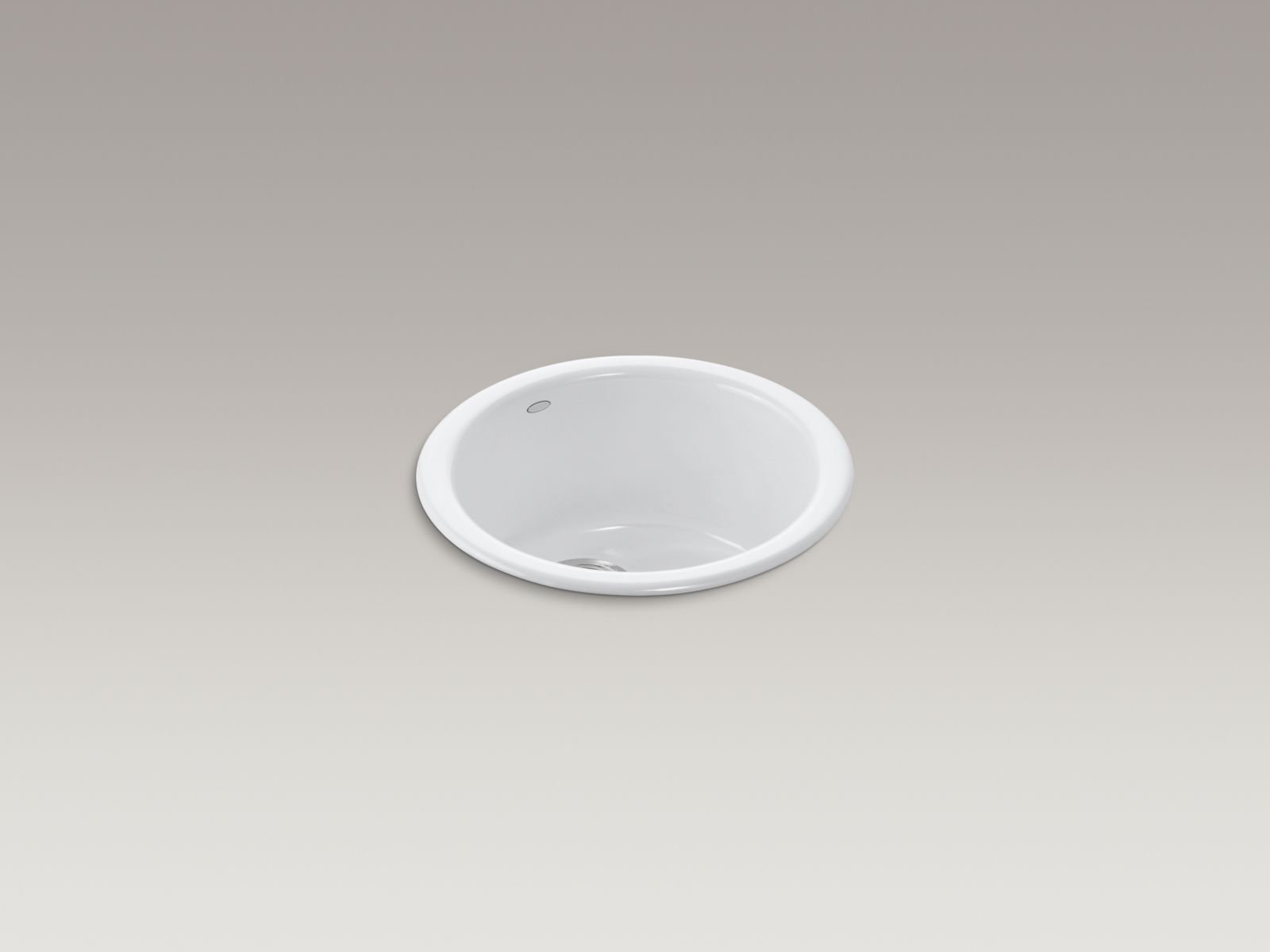 Kohler K-6565-0 Porto Fino Self-Rimming/ Undercounter Entertainment Sink White