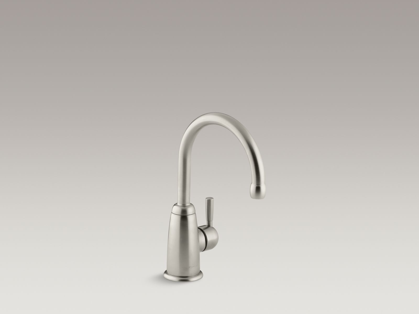 Kohler K-6665-BN Wellspring Single-handle Beverage Faucet with Contemporary Design Brushed Nickel