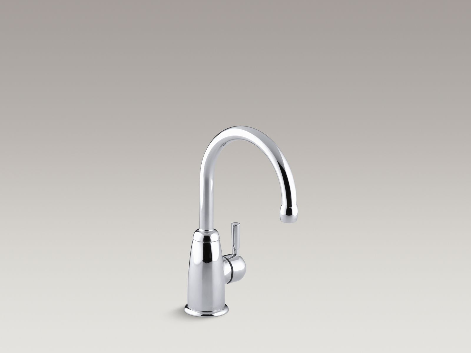 Kohler K-6665-CP Wellspring Single-handle Beverage Faucet with Contemporary Design Polished Chrome