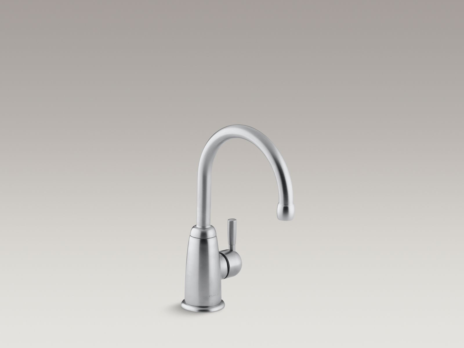 Kohler K-6665-G Wellspring Single-handle Beverage Faucet with Contemporary Design Brushed Chrome
