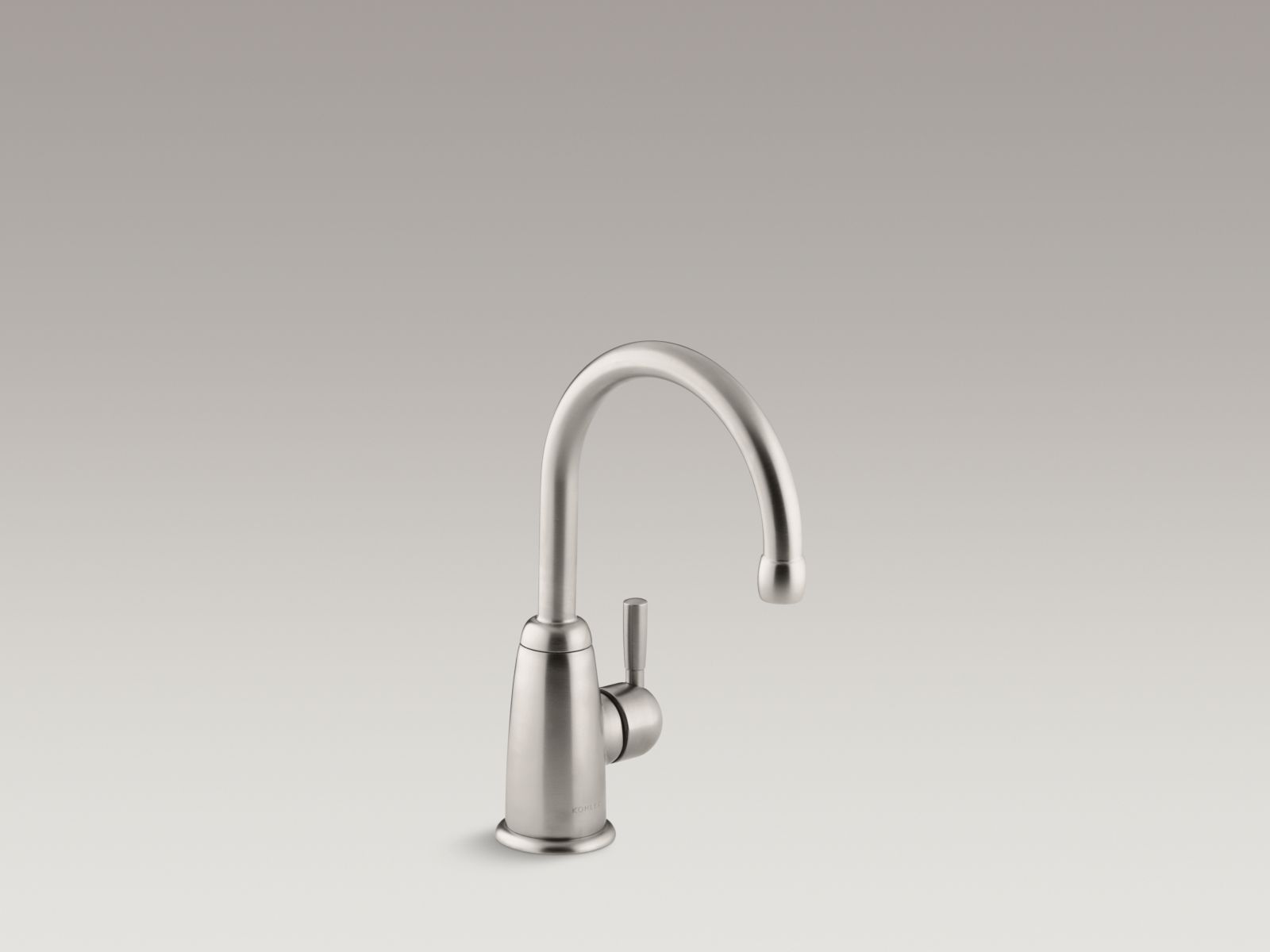 Kohler K-6665-VS Wellspring Single-handle Beverage Faucet with Contemporary Design Vibrant Stainless