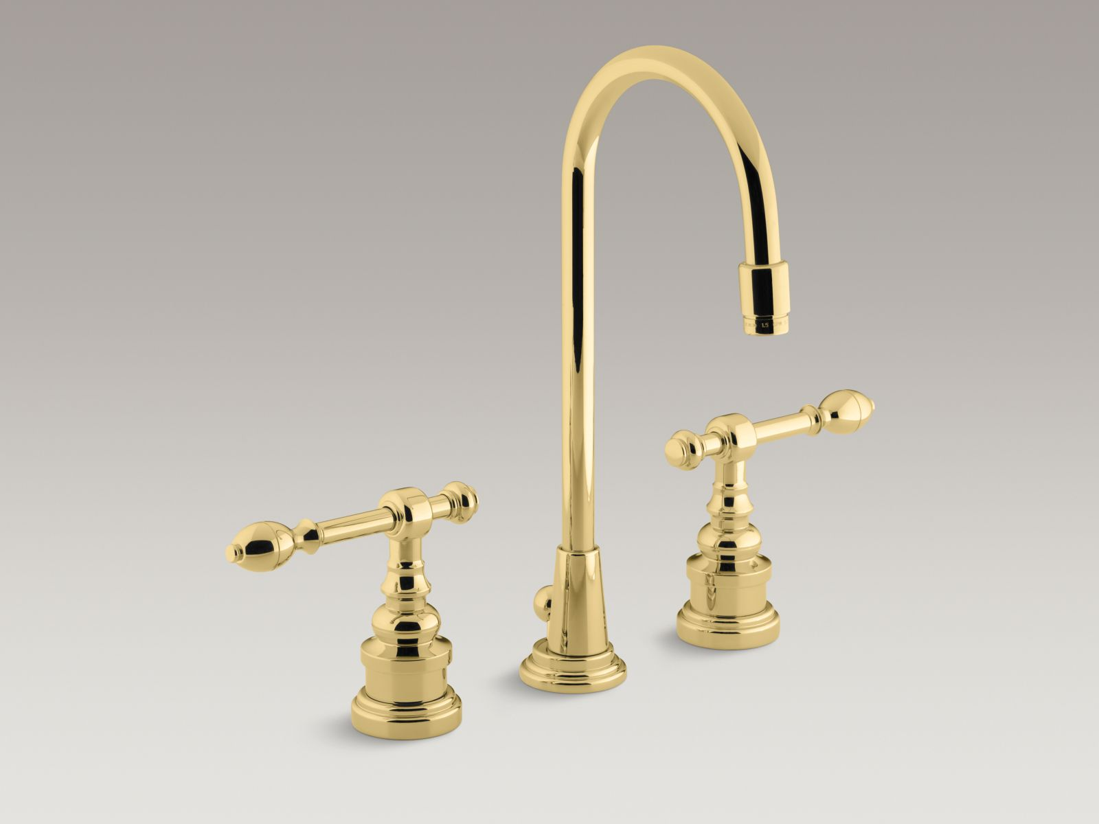BuyPlumbing.net - Product: Kohler K-6811-4-SN IV Georges Brass ...