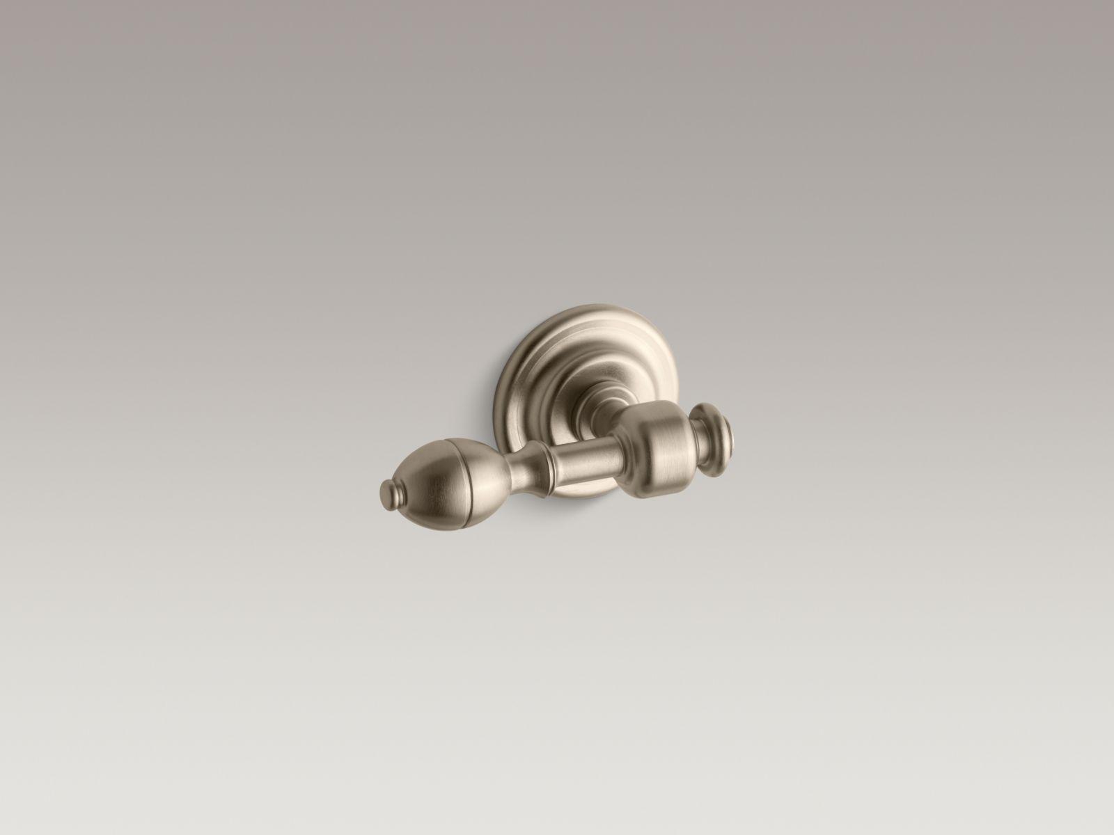 Kohler K-6822-BV IV Georges Brass Toilet Trip Lever Vibrant Brushed Bronze