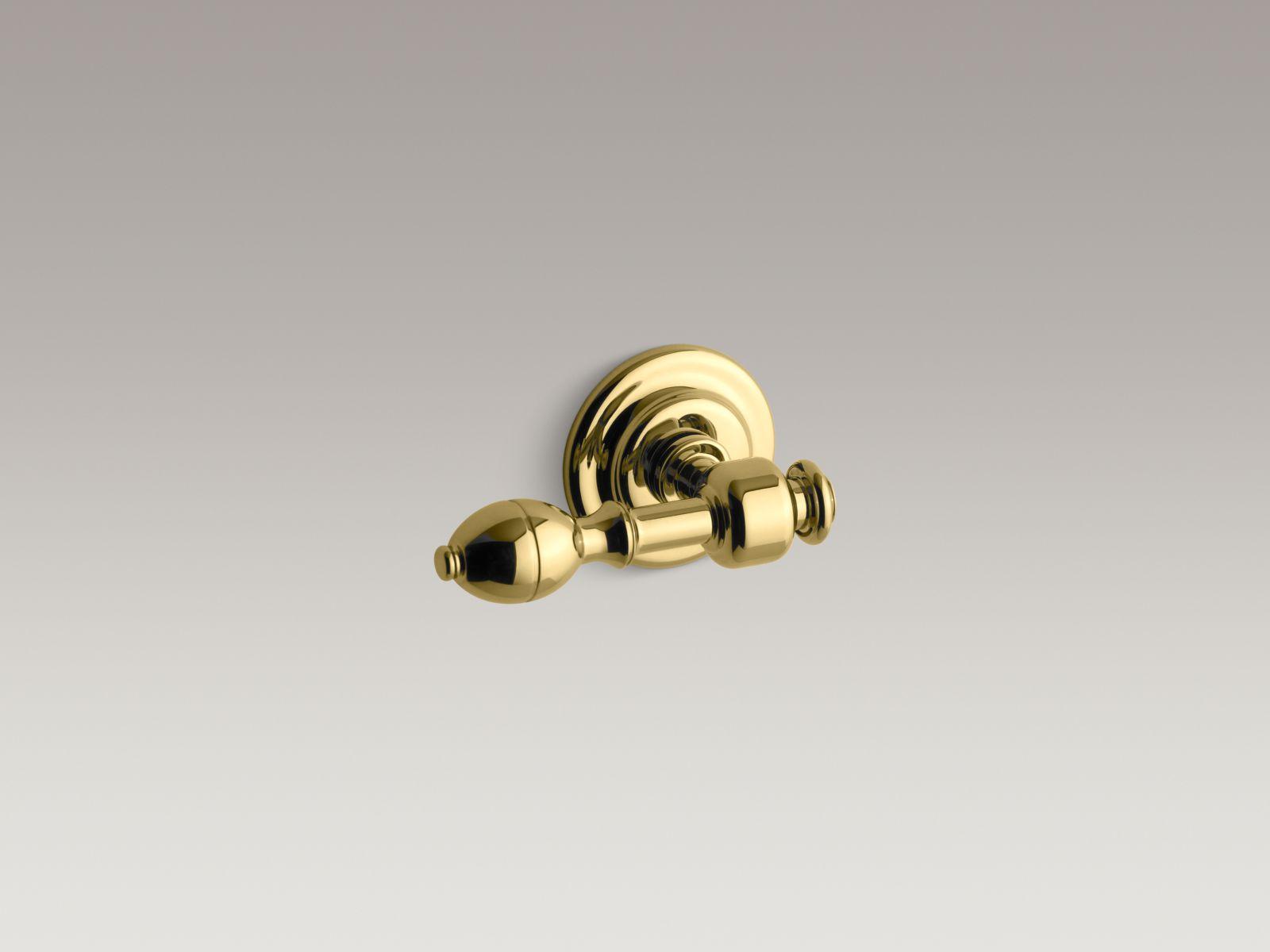 Kohler K-6822-PB IV Georges Brass Toilet Trip Lever Vibrant Polished Brass