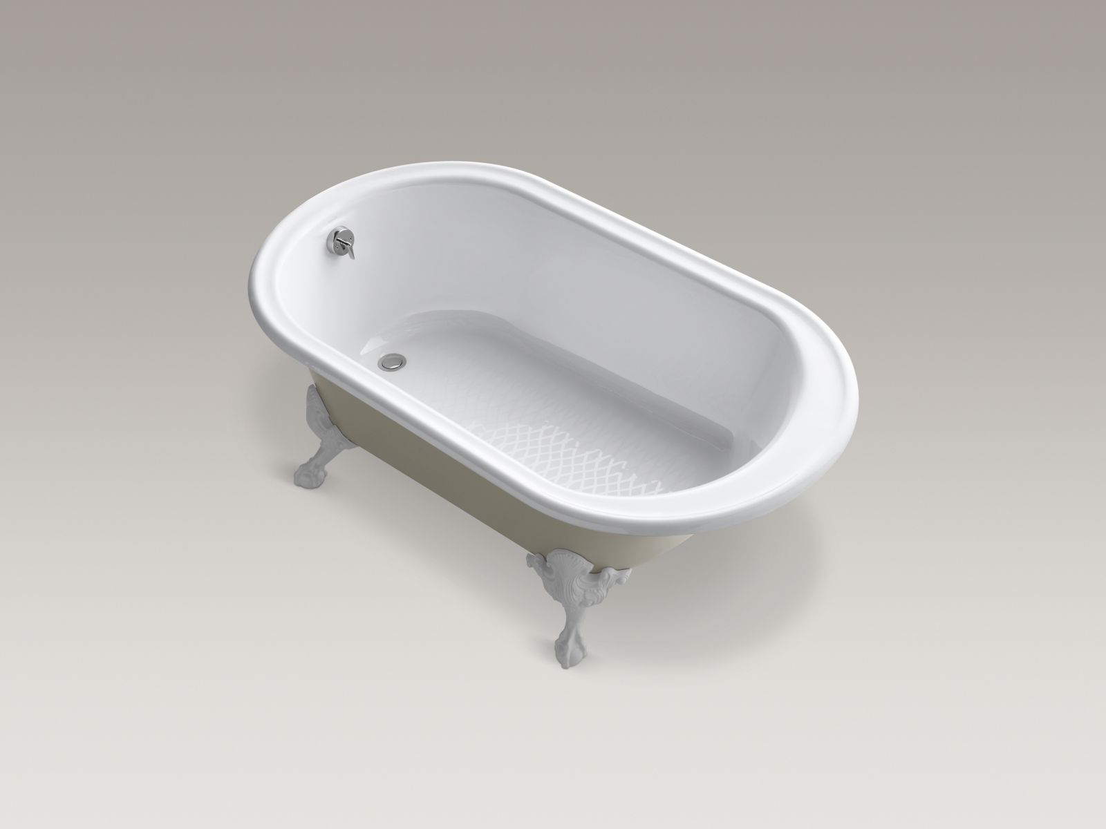 Kohler K-710-S-0 Iron Works Historic Bath White