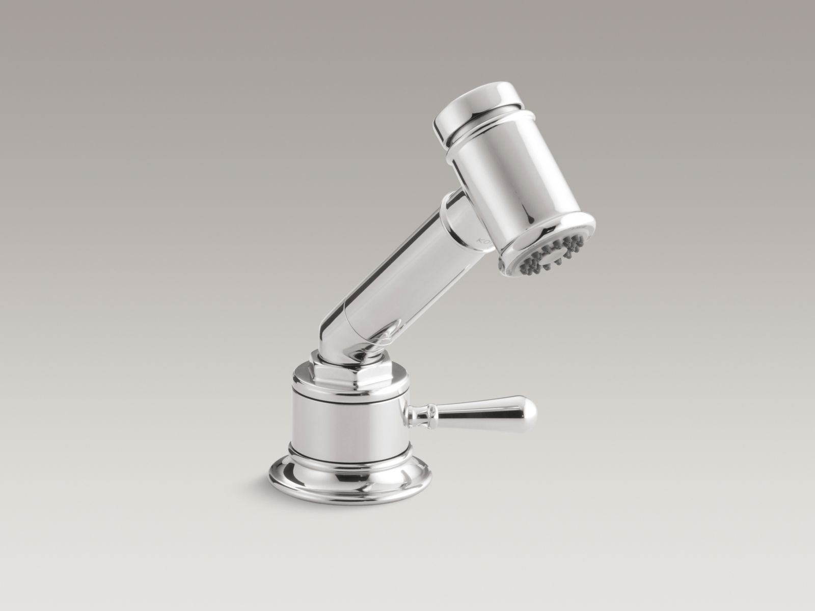 Kohler K-7344-4-S HiRise Stainless Independent Sidespray with Valve Stainless Steel