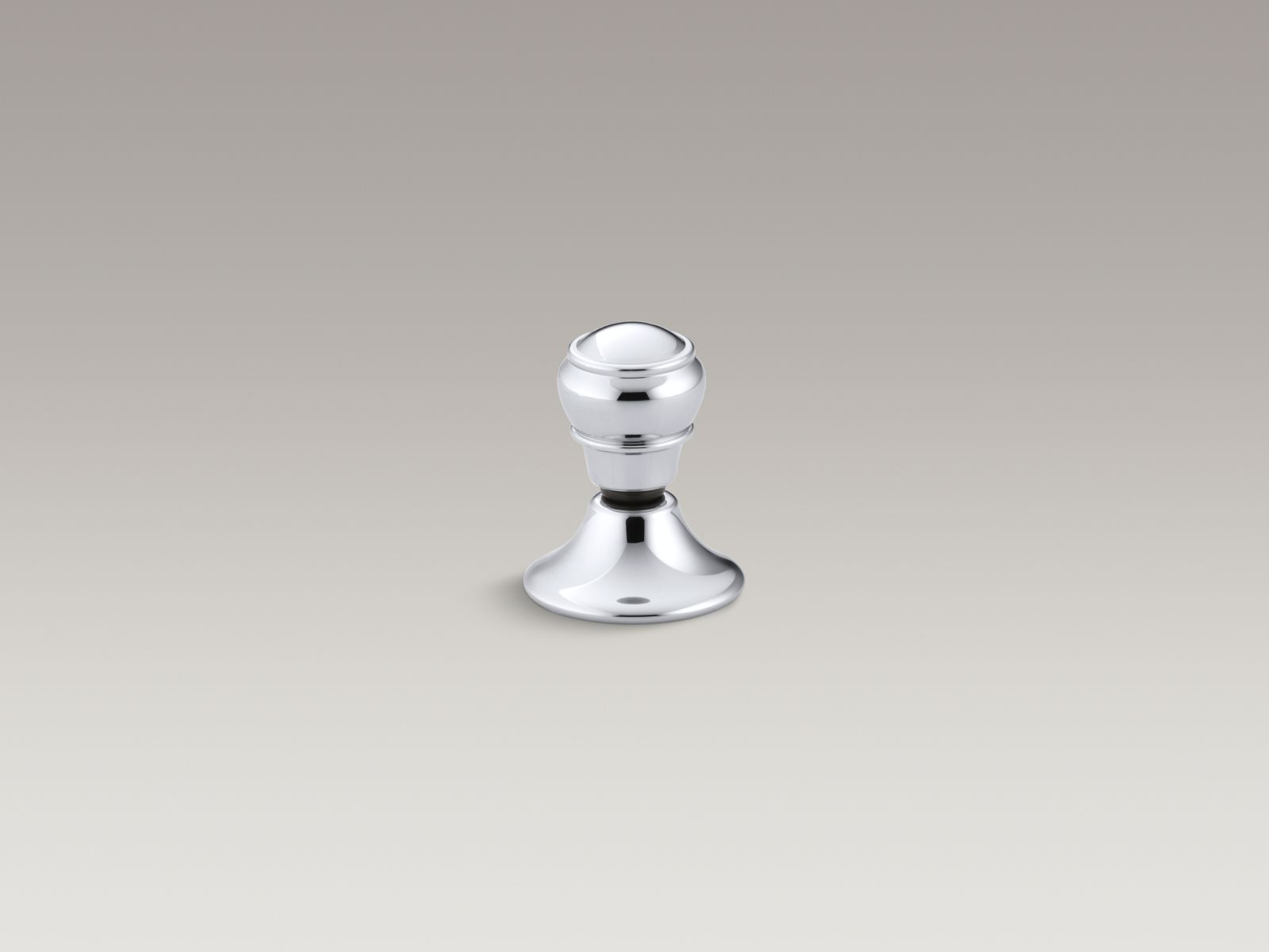 Kohler Portrait® K-7677-CP lift knob flush actuator for K-3826 Polished Chrome