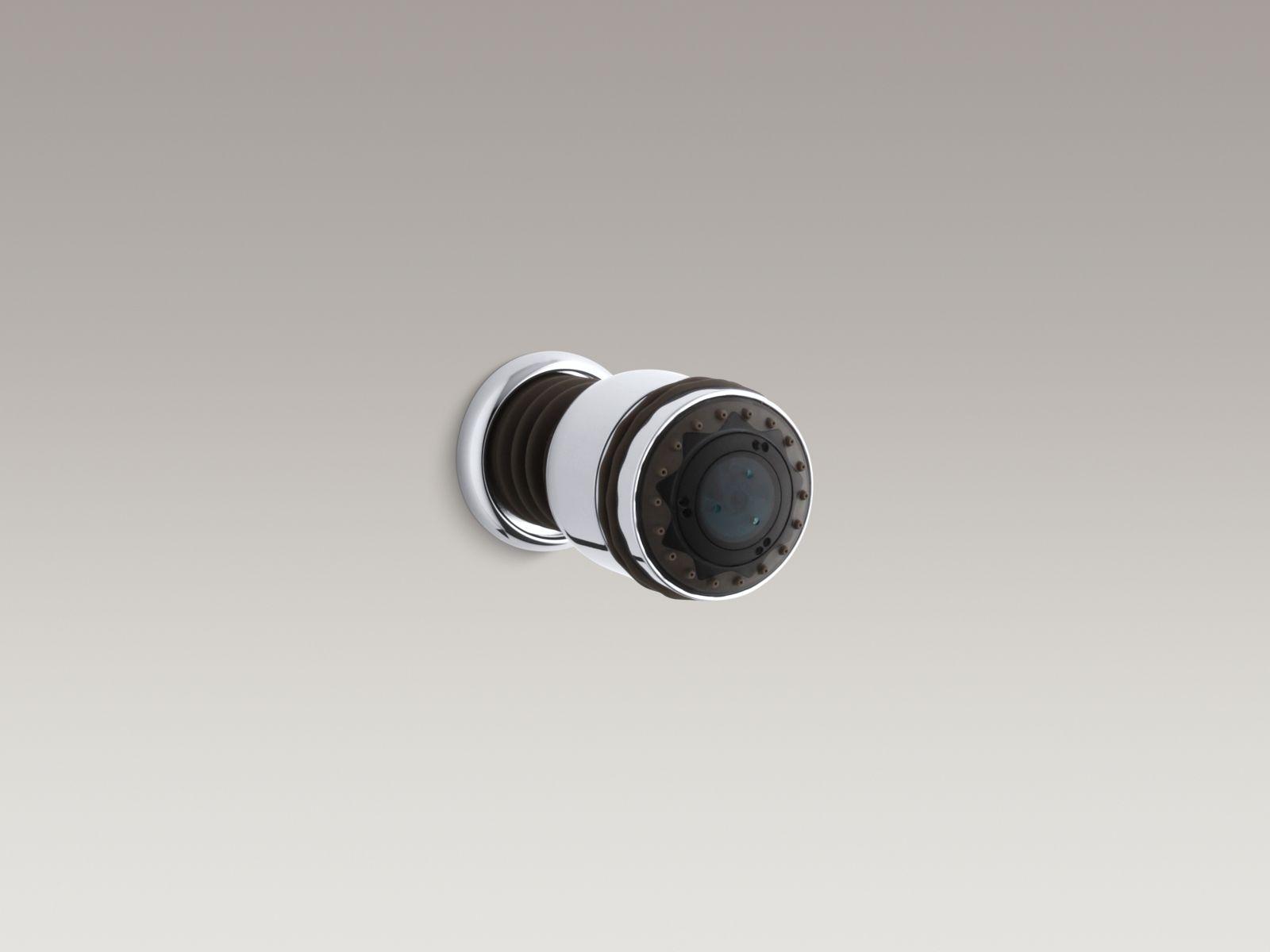 Kohler K-8509-CP MasterShower Round Invigorating 3-way Bodyspray Polished Chrome