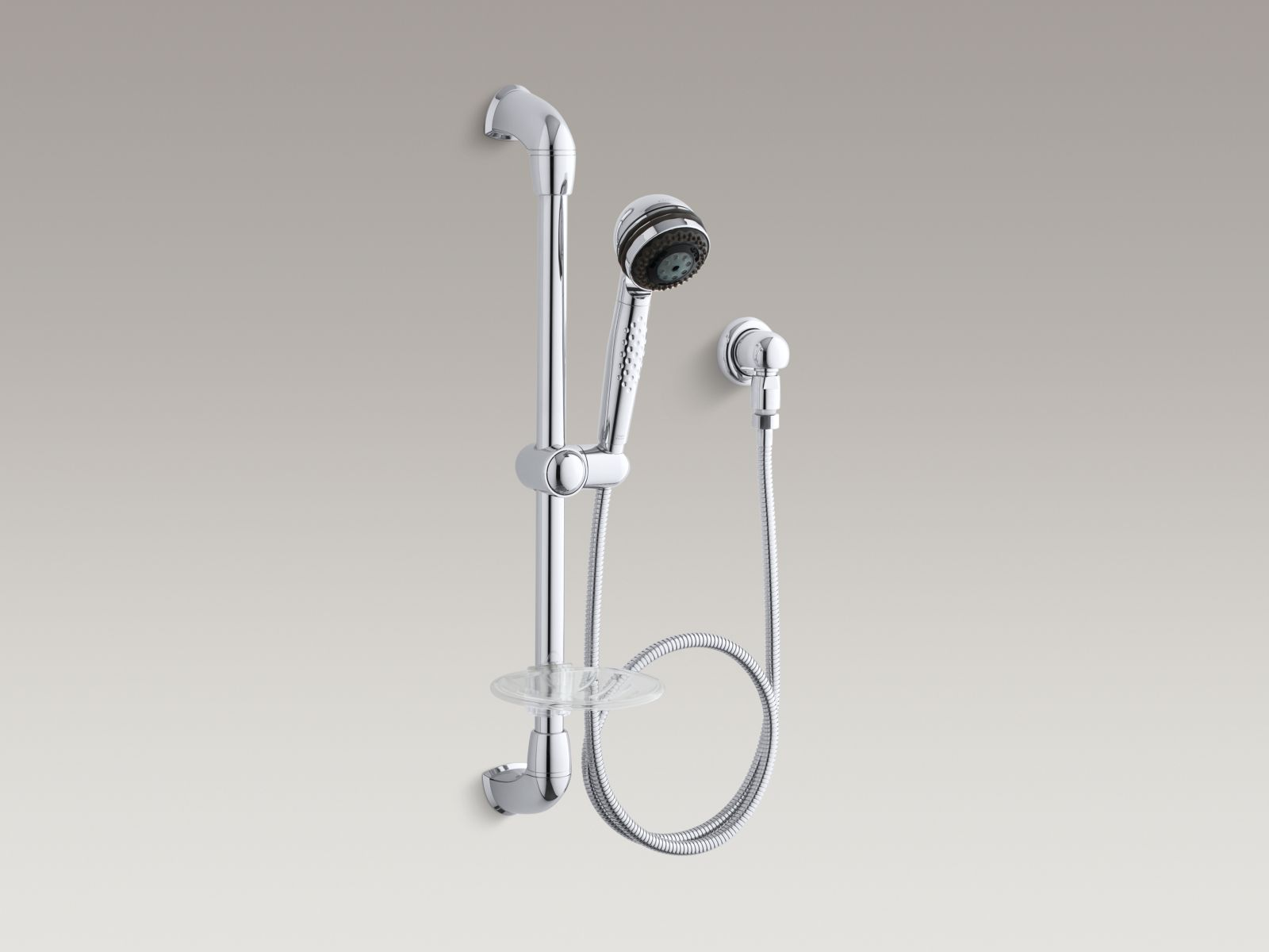 Kohler K-8520-CP MasterShower Hotel Handshower Kit Polished Chrome