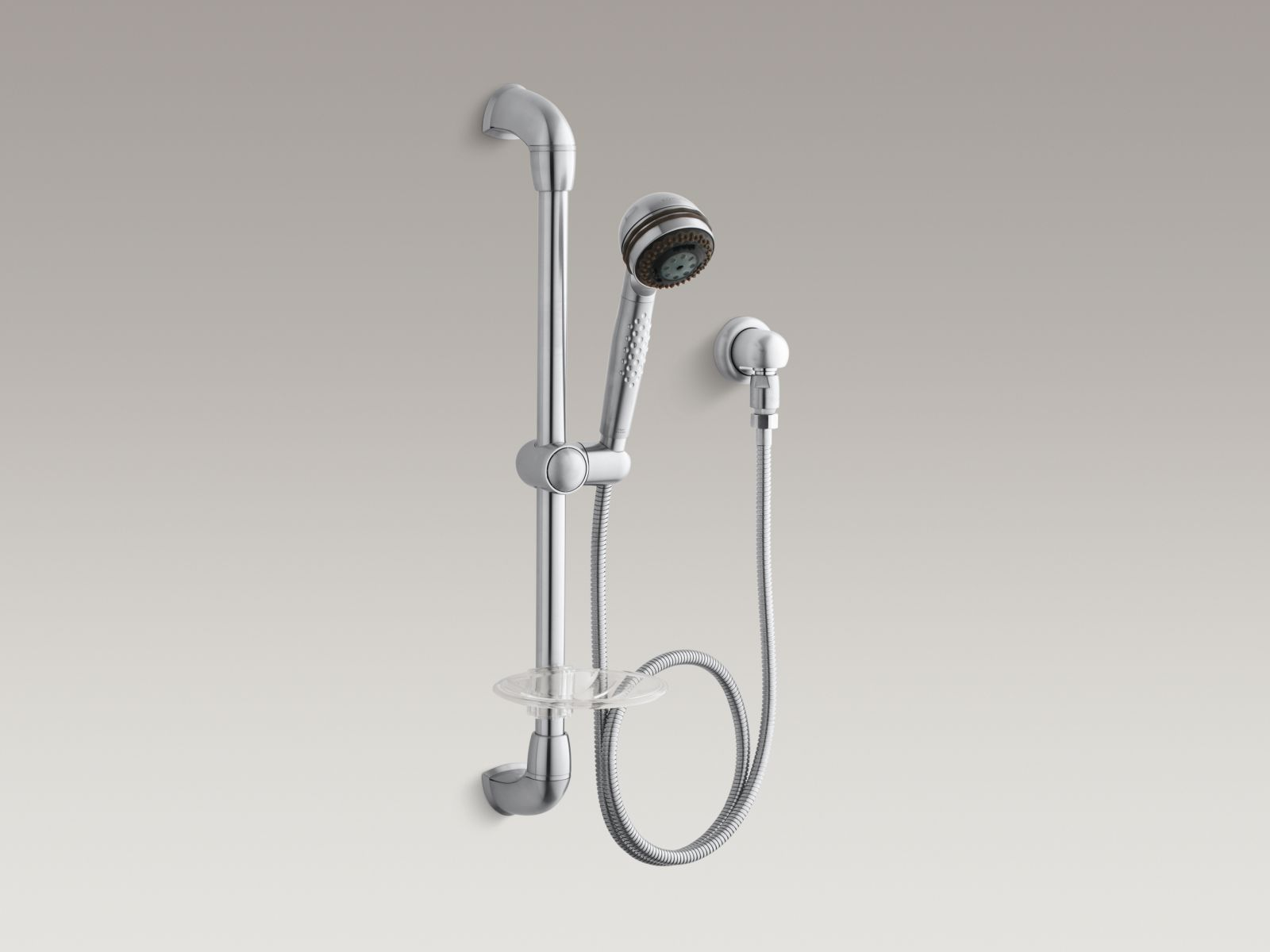 Kohler K-8520-G MasterShower Hotel Handshower Kit Brushed Chrome