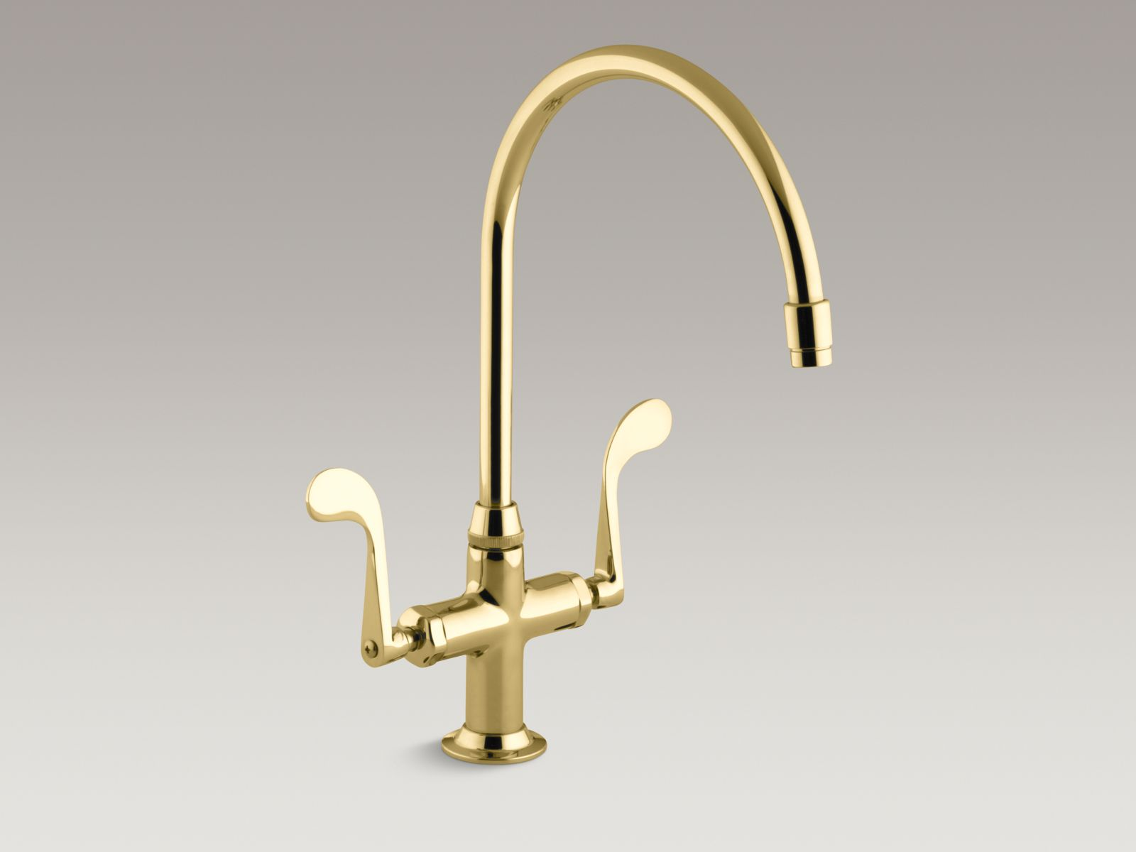 Kohler K-8762-PB Essex Sink Faucet Vibrant Polished Brass