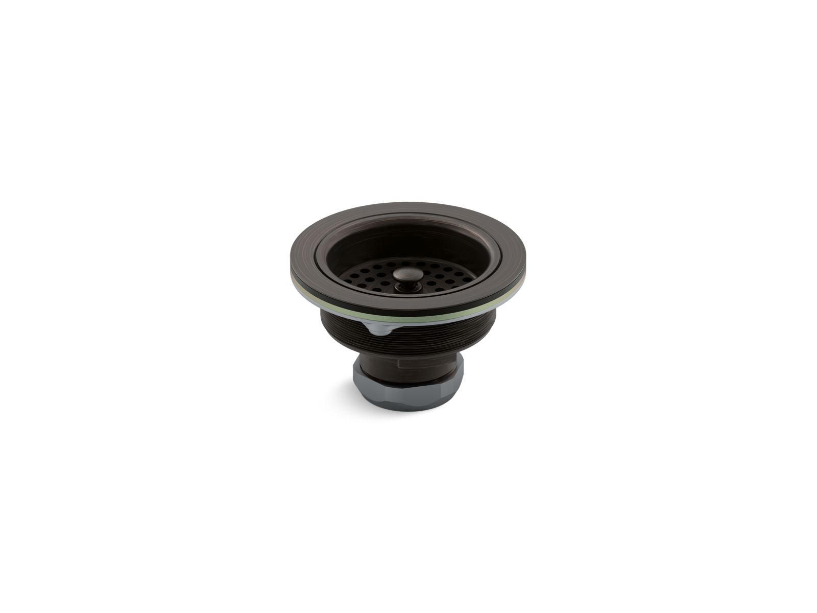 Kohler K-8799-2BZ Sink Strainer - Less Tail Piece, Oil Rubbed Bronze (2BZ)
