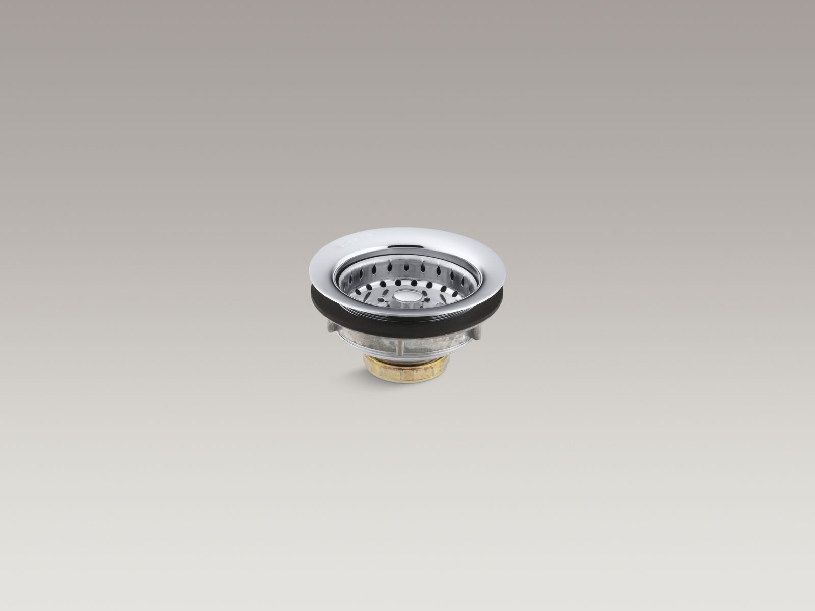 Kohler K-8814-CP Sink Strainer without Tailpiece, Polished Chrome