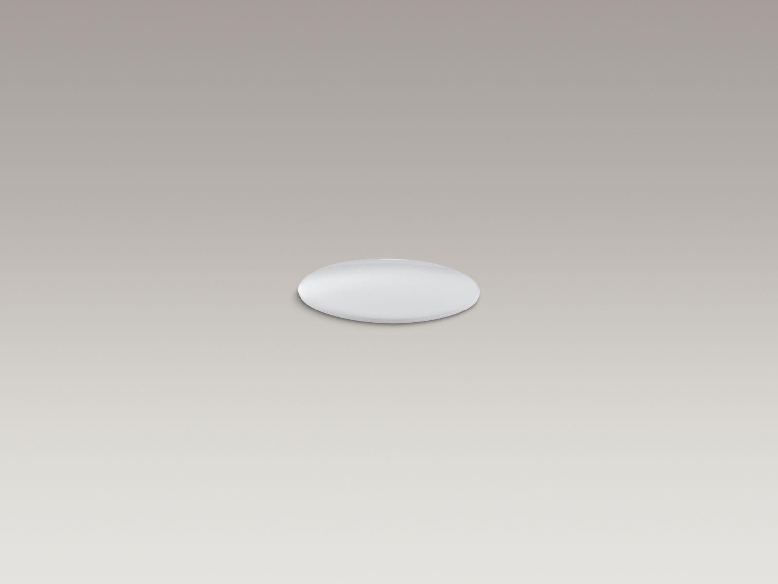 Kohler K-8830-0 Kitchen and Bathroom Sink Extra Hole Cover White