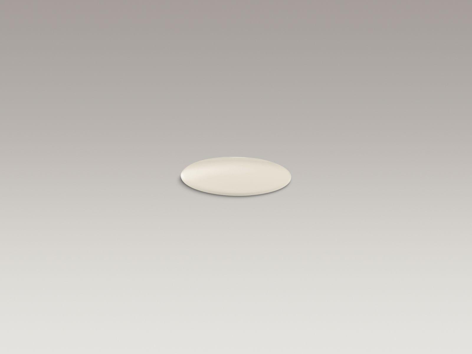 Kohler K-8830-47 Kitchen and Bathroom Sink Extra Hole Cover Almond