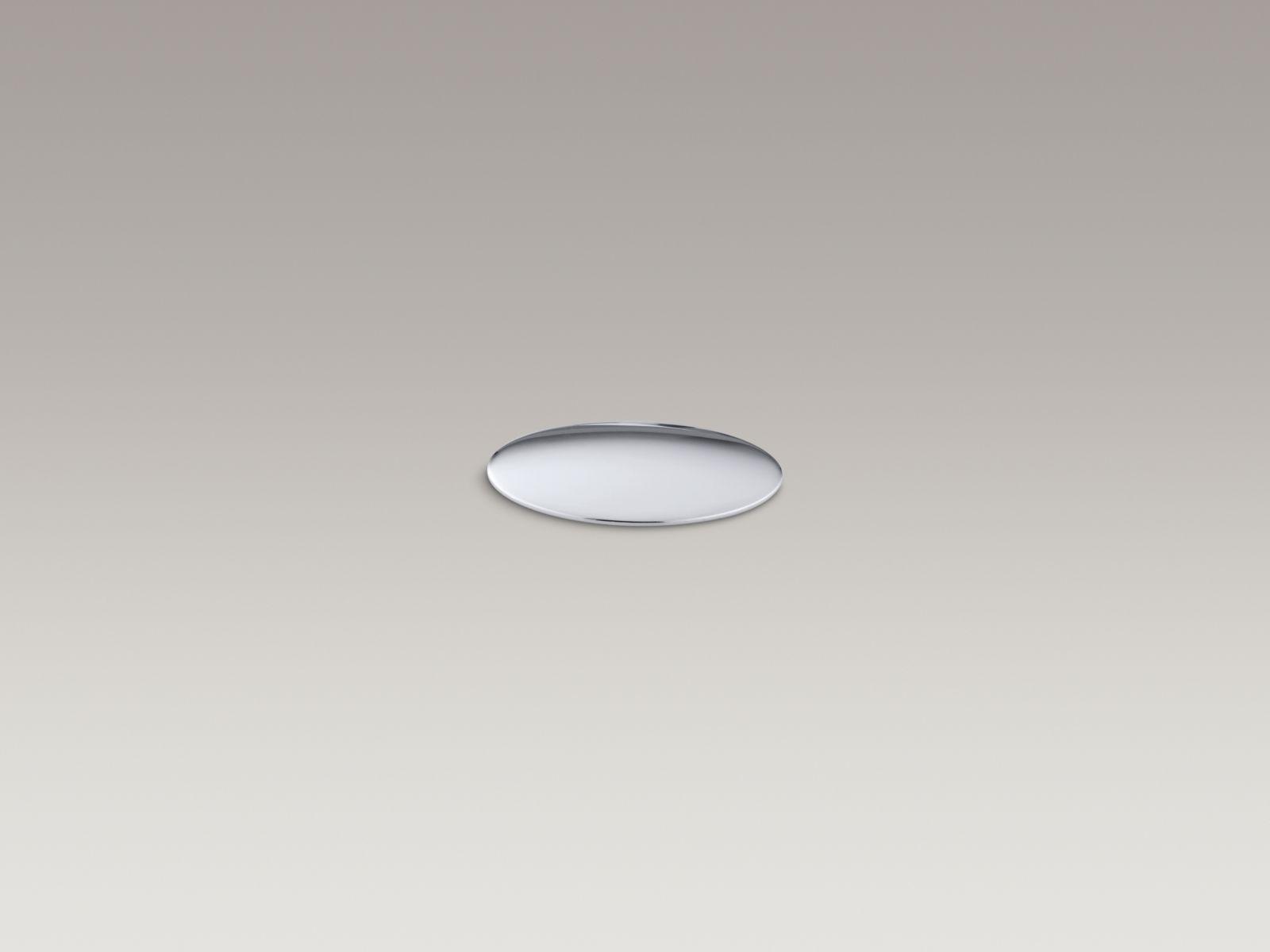 Kohler K-8830-CP Kitchen and Bathroom Sink Extra Hole Cover Polished Chrome