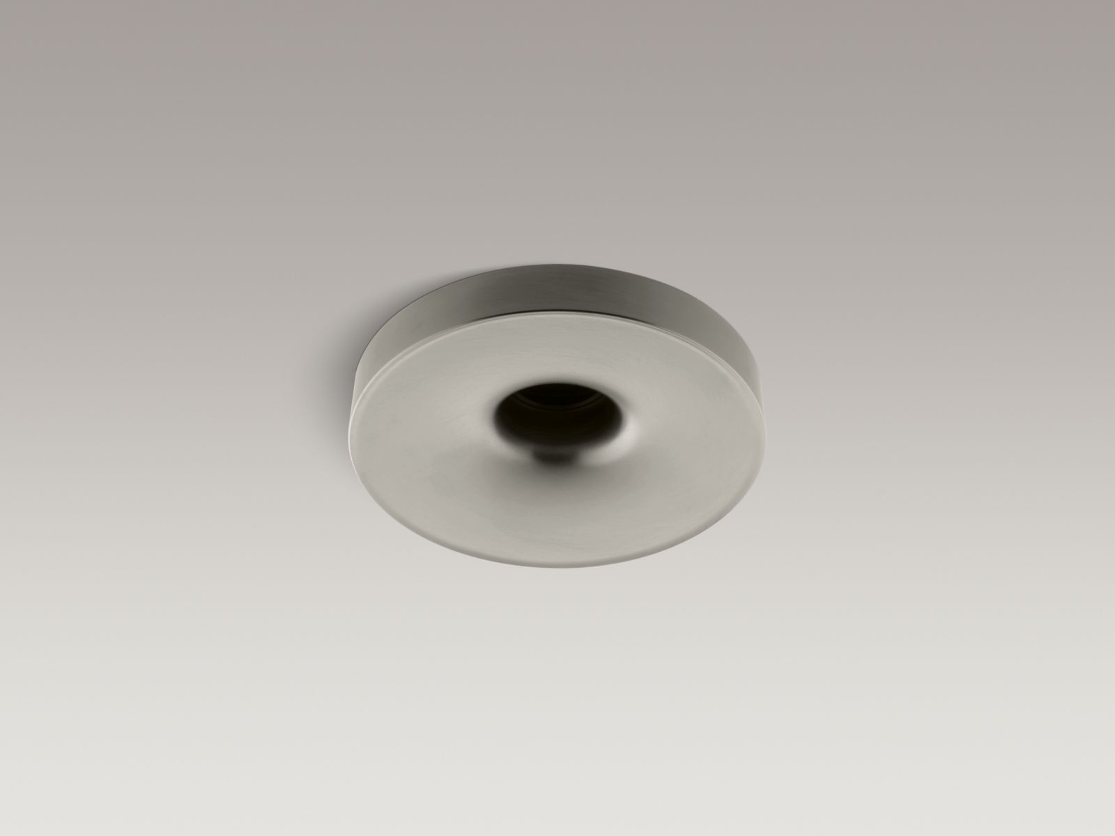 "Kohler K-923-BN Laminar Wall- or Ceiling-mounted Bathtub Filler with 0.95"" Orifice Vibrant Brushed Nickel"