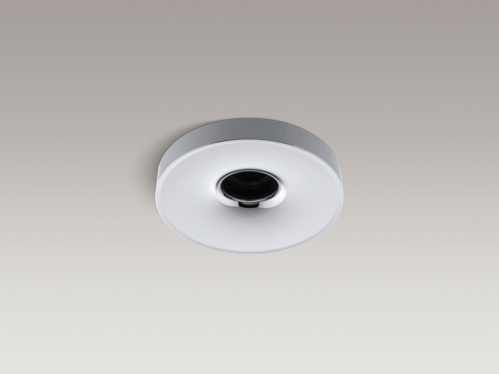 "Kohler K-923-CP Laminar Wall- or Ceiling-mounted Bathtub Filler with 0.95"" Orifice Polished Chrome"