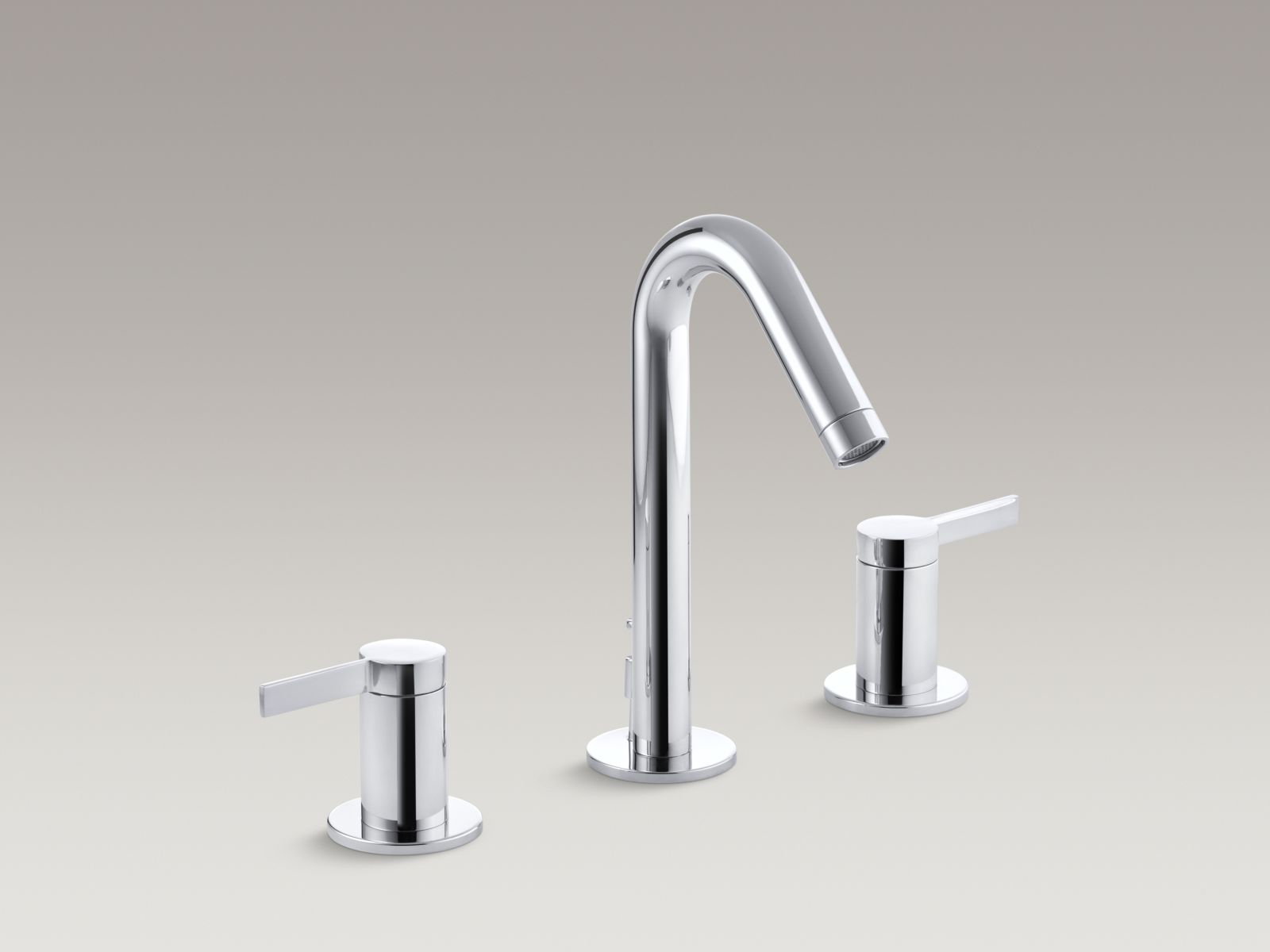 Kohler K-942-4-CP Stillness Widespread Bathroom Faucet Polished Chrome