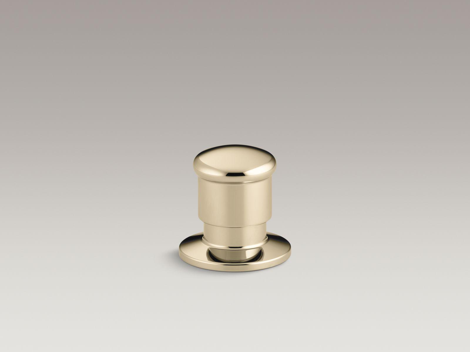 Kohler K-9530-AF Deck-Mount Two-Way Diverter Valve French Gold