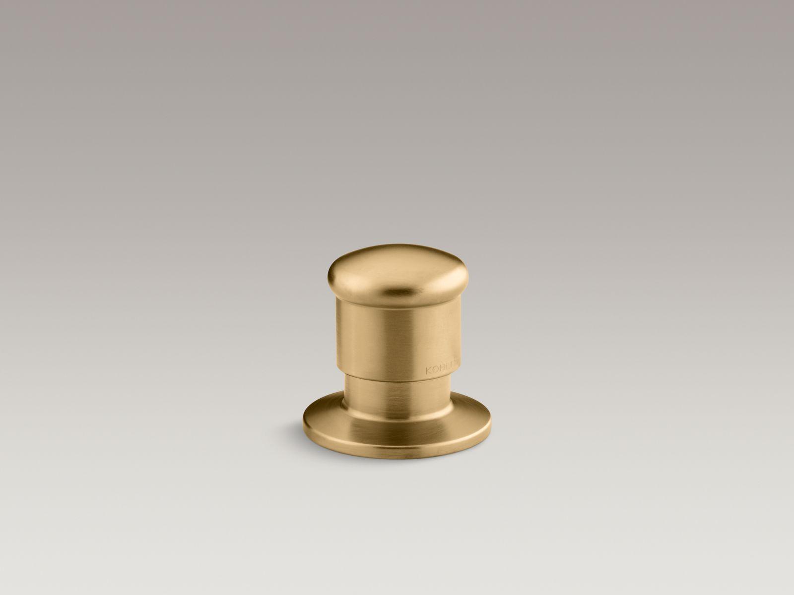 Kohler K-9530-BGD Deck-Mount Two-Way Diverter Valve Vibrant Moderne Brushed Gold