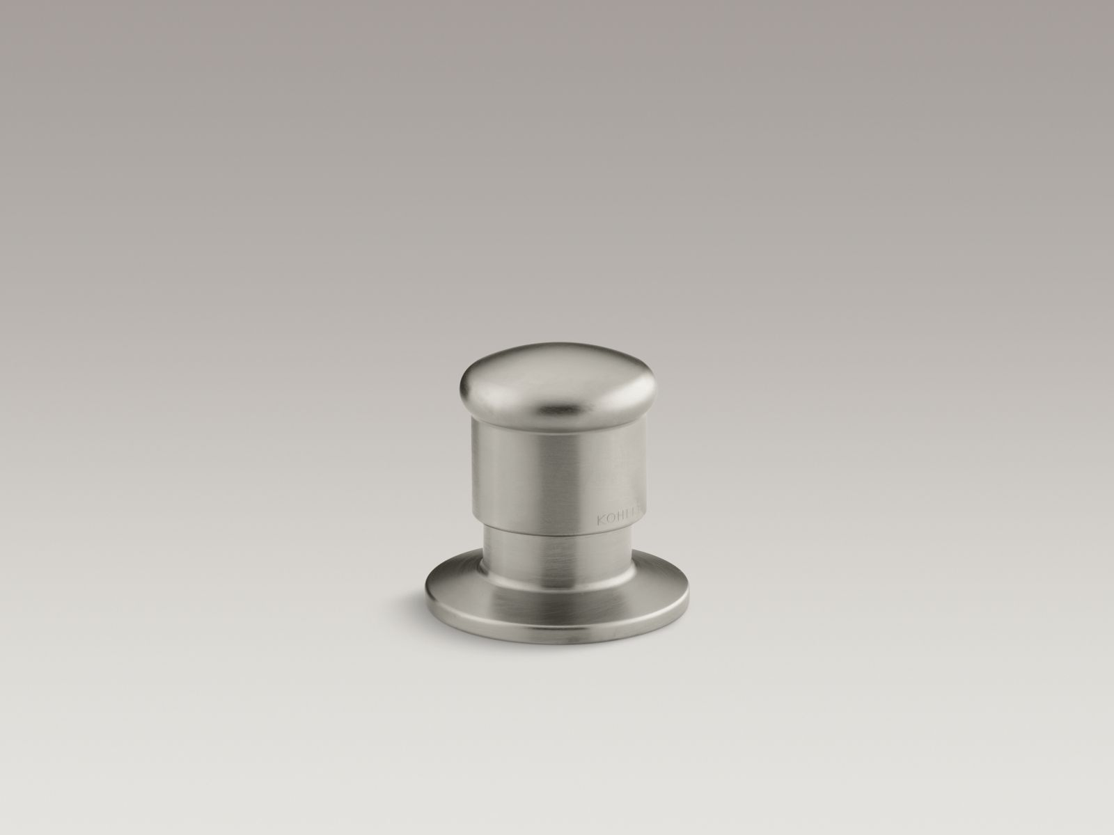 Kohler K-9530-BN Deck-Mount Two-Way Diverter Valve Brushed Nickel