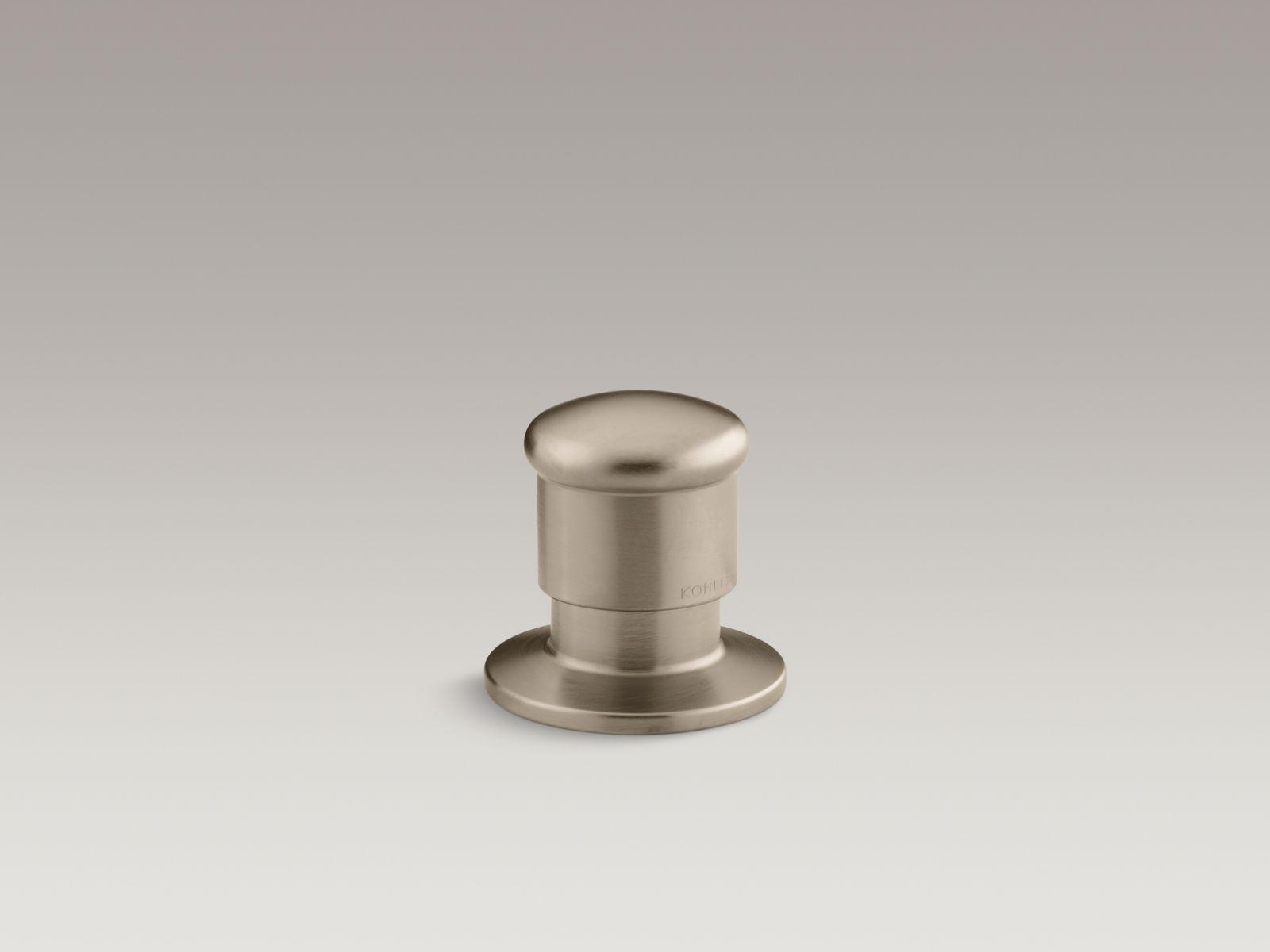 Kohler K-9530-BV Deck-Mount Two-Way Diverter Valve Brushed Bronze