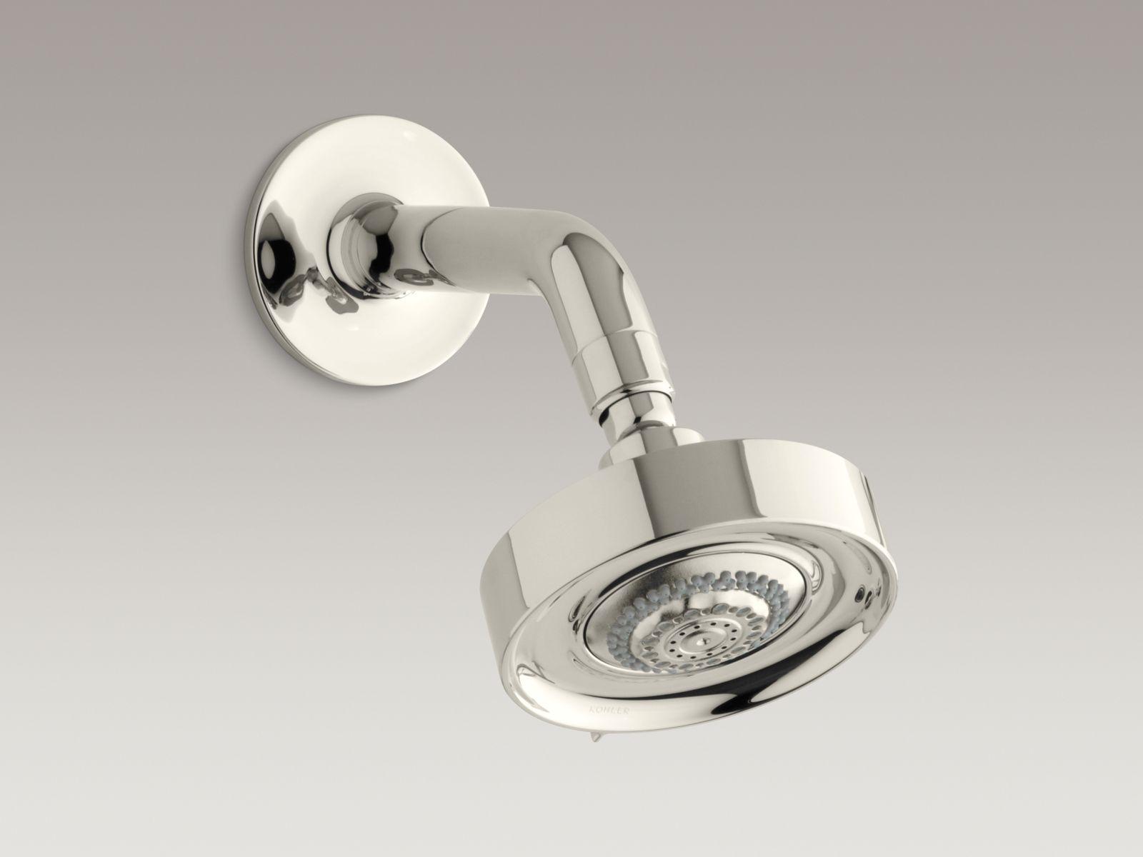 Kohler K-966-SN Purist/Taboret Multifunction Showerhead Vibrant Polished Nickel