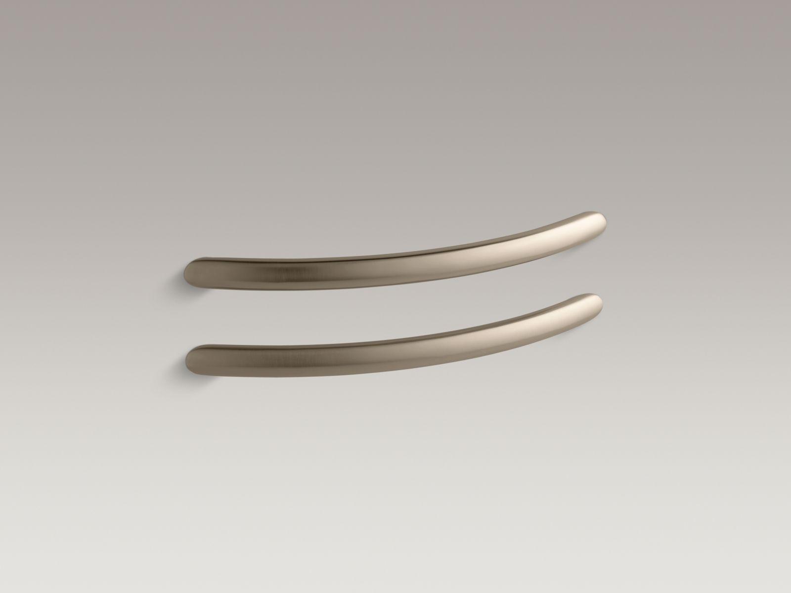 Kohler K-9669-BV RiverBath Grip Rails Vibrant Brushed Bronze