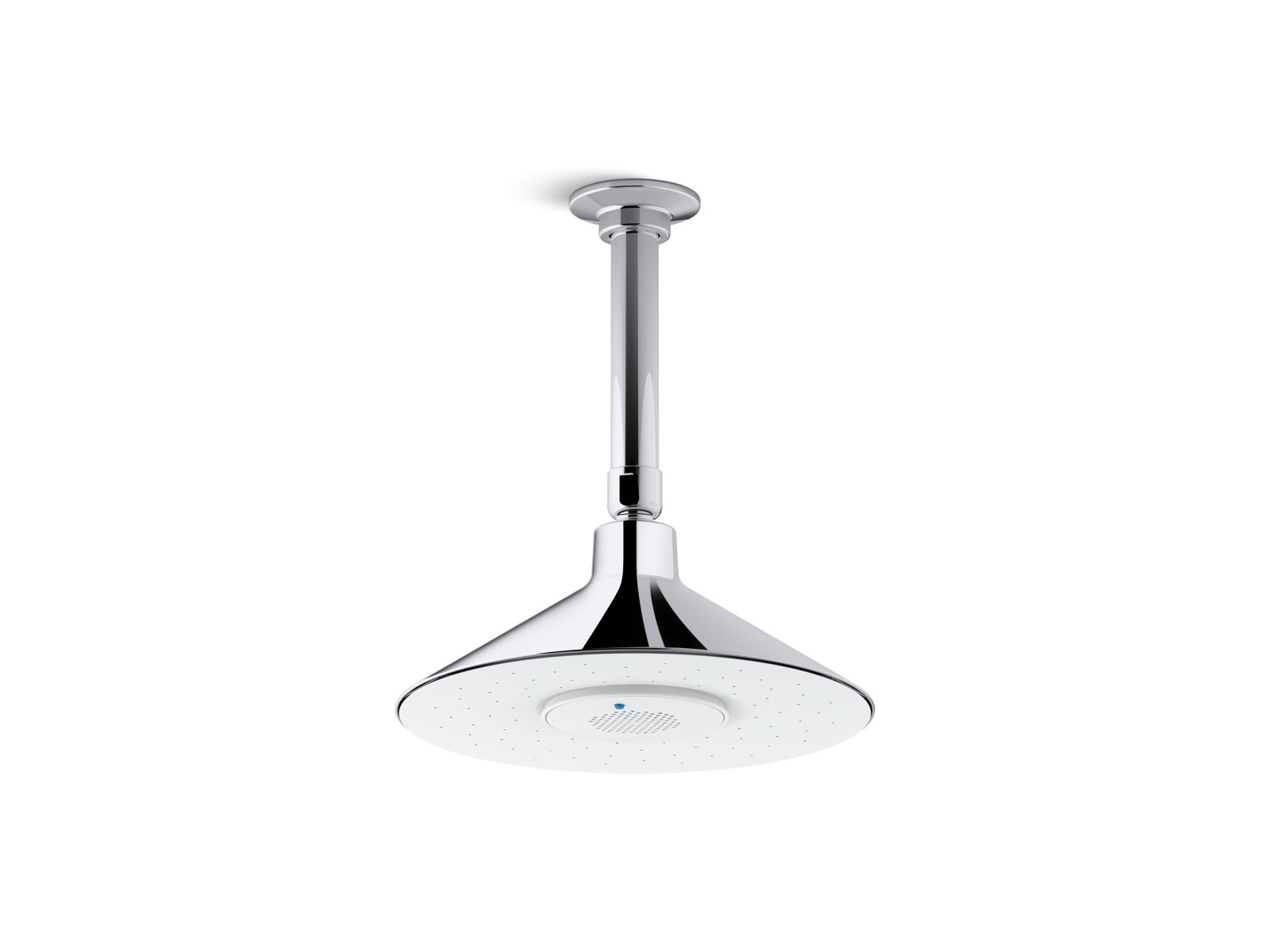 Kohler Moxie® K-99105-CP 2.5 gpm rainhead with wireless speaker Polished Chrome