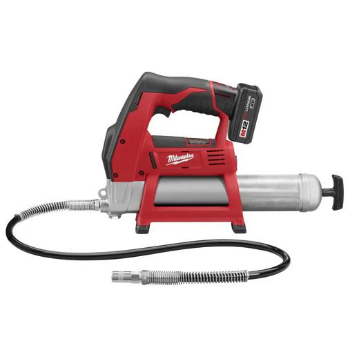 Milwaukee Tool 2446-21XC M12™Cordless LITHIUM-ION Grease Gun Kit