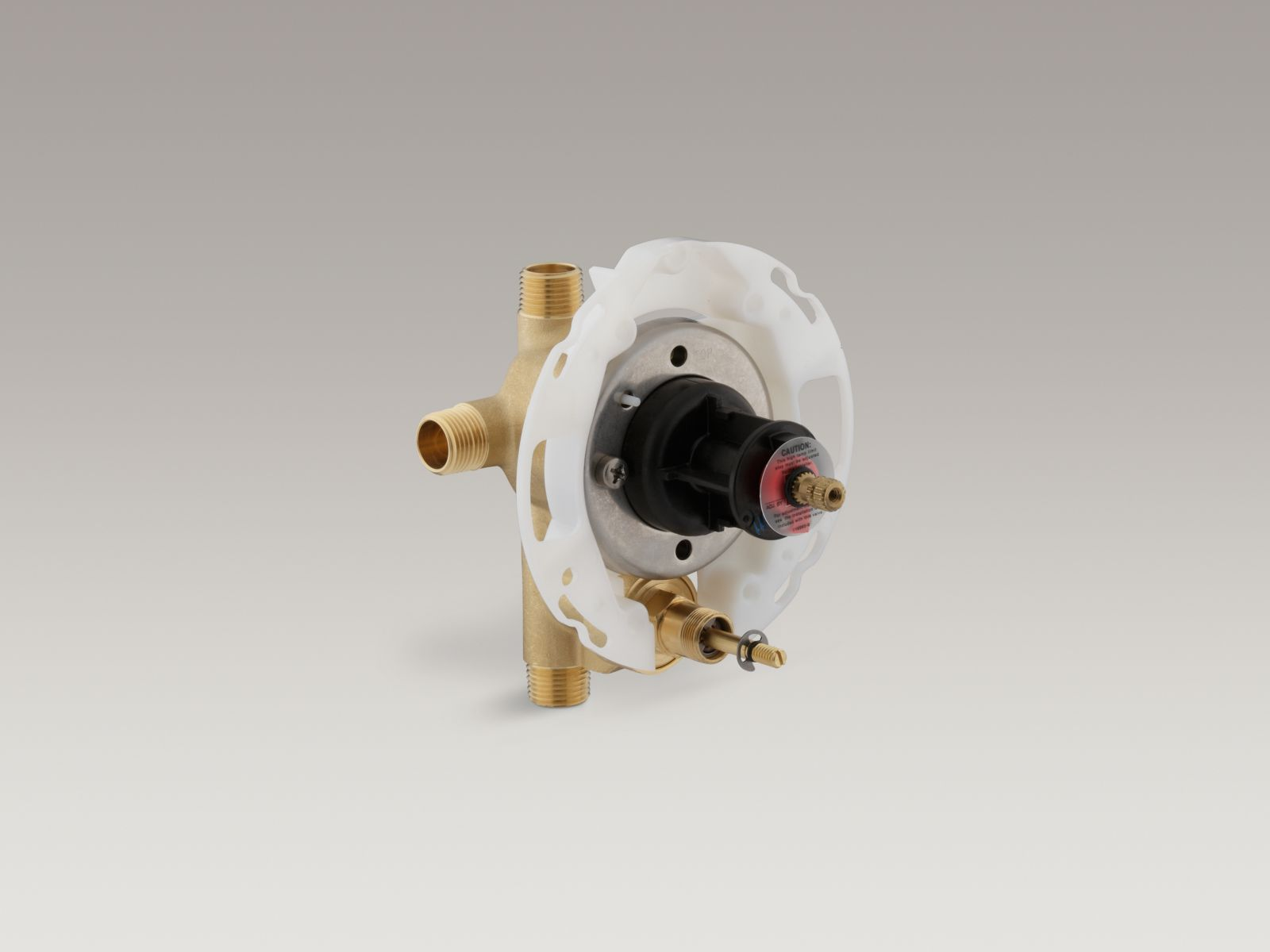 "Kohler K-11748-K-NA Rite-Temp 1/2"" Pressure-balancing Valve with Push-button Diverter"