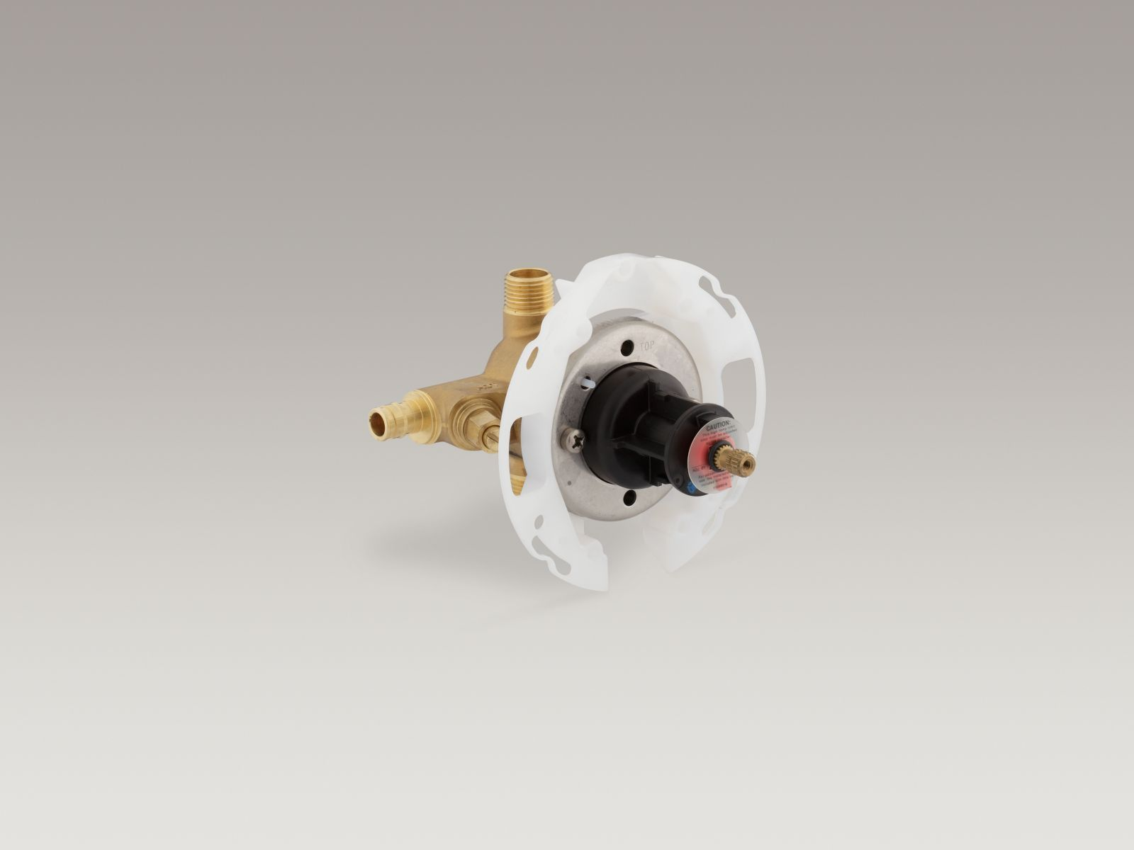 "Kohler K-304-US-NA Rite-Temp 1/2"" Pressure Balance Valve with Screwdriver Stops and PEX-expansion Connections"