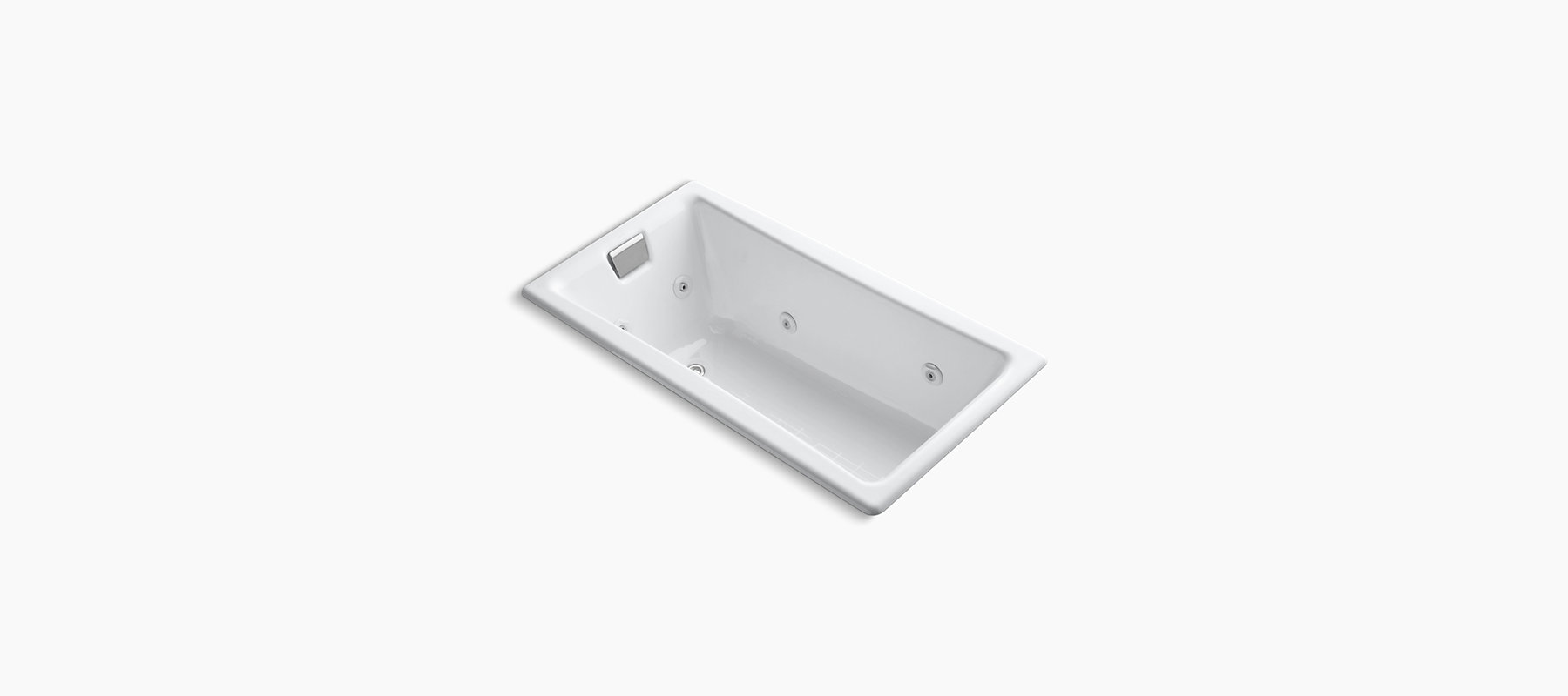 Kohler K-852-HB-NY Tea-For-Two 5 Ft. Whirlpool Dune