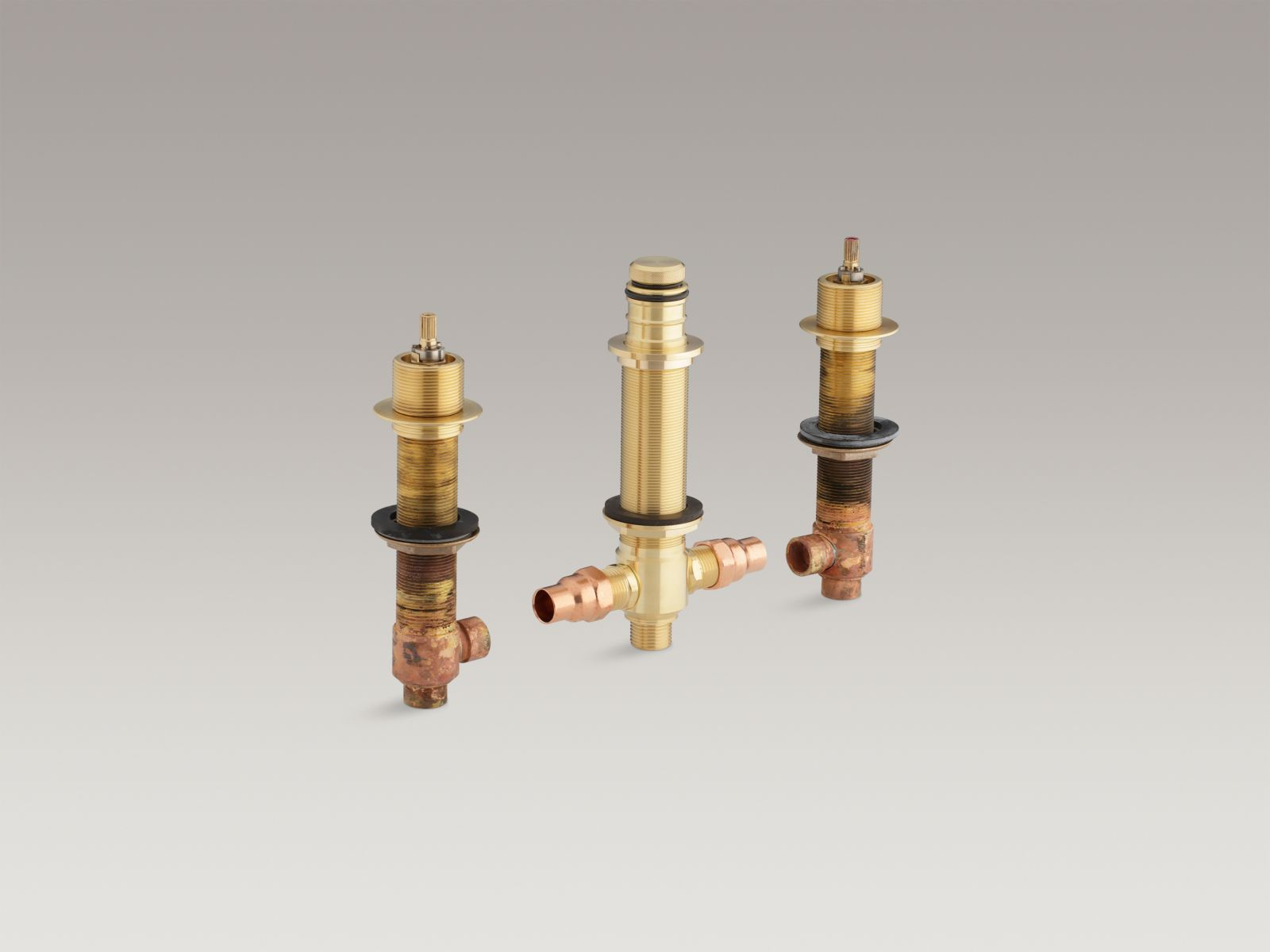 "Kohler K-P438-K-NA High-Flow 1/2"" Roman Bathtub Valve System with Handshower Diverter"